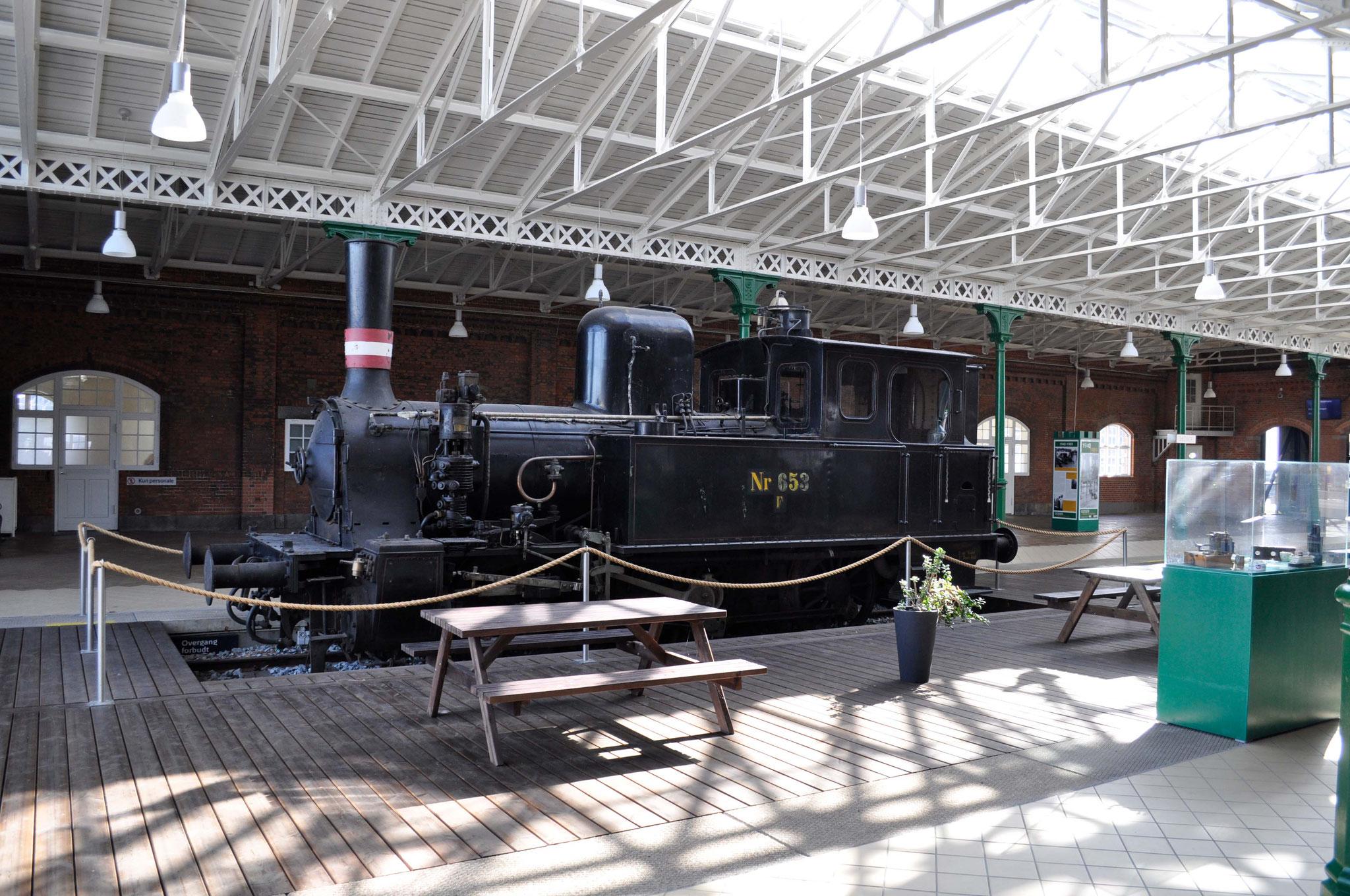 Ausstellung in Gedser zur Geschichte der Fährverbindung Rostock-Gedser.