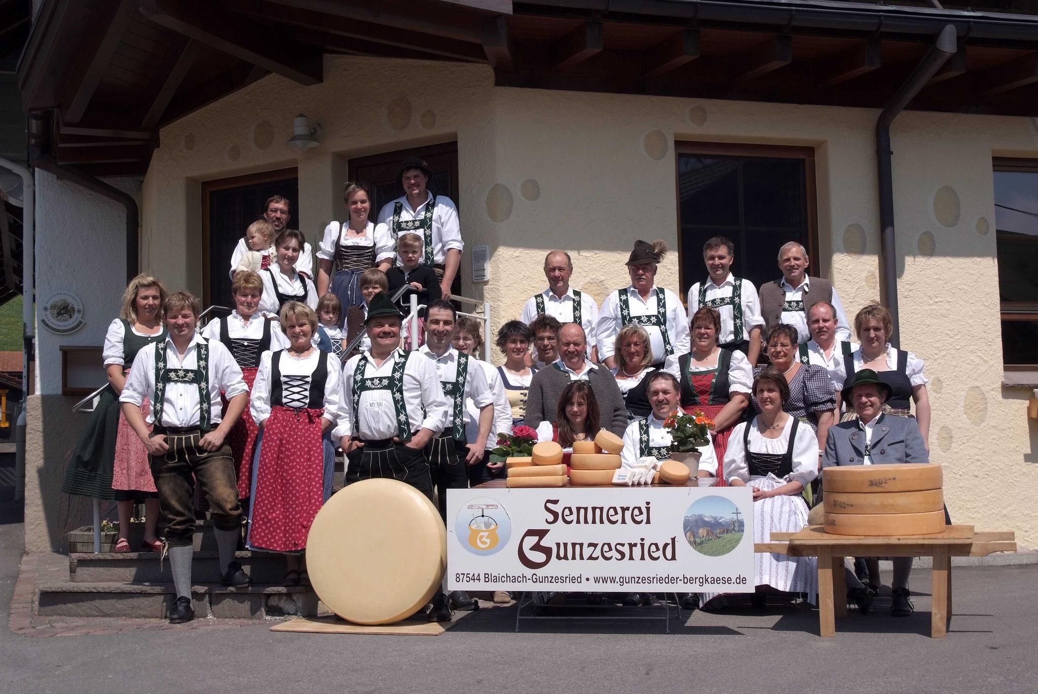 Bauern Gunzesried, Allgäuer Tracht