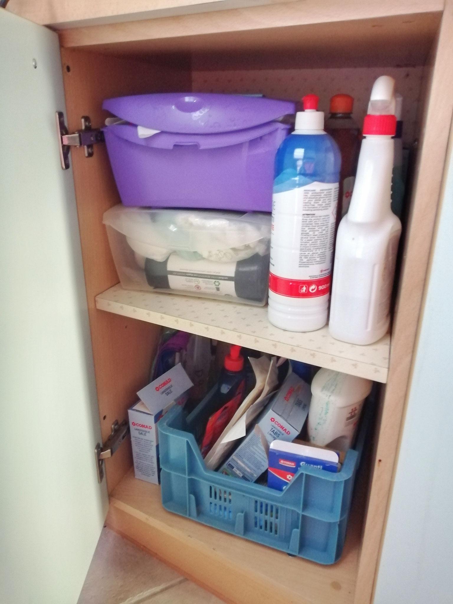 Zona detergenti: prima
