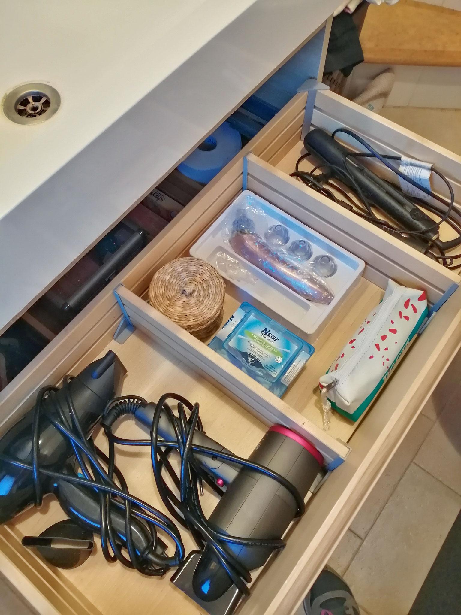 Cassetto bagno: dopo