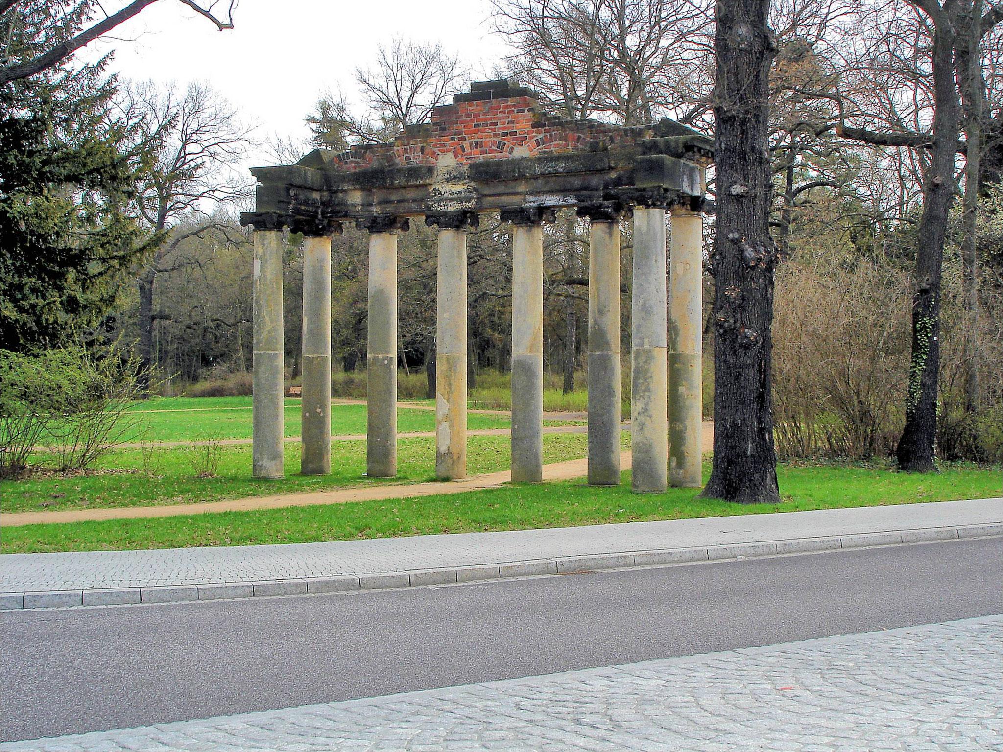 """Römische Ruine (""""Sieben Säulen"""")"""