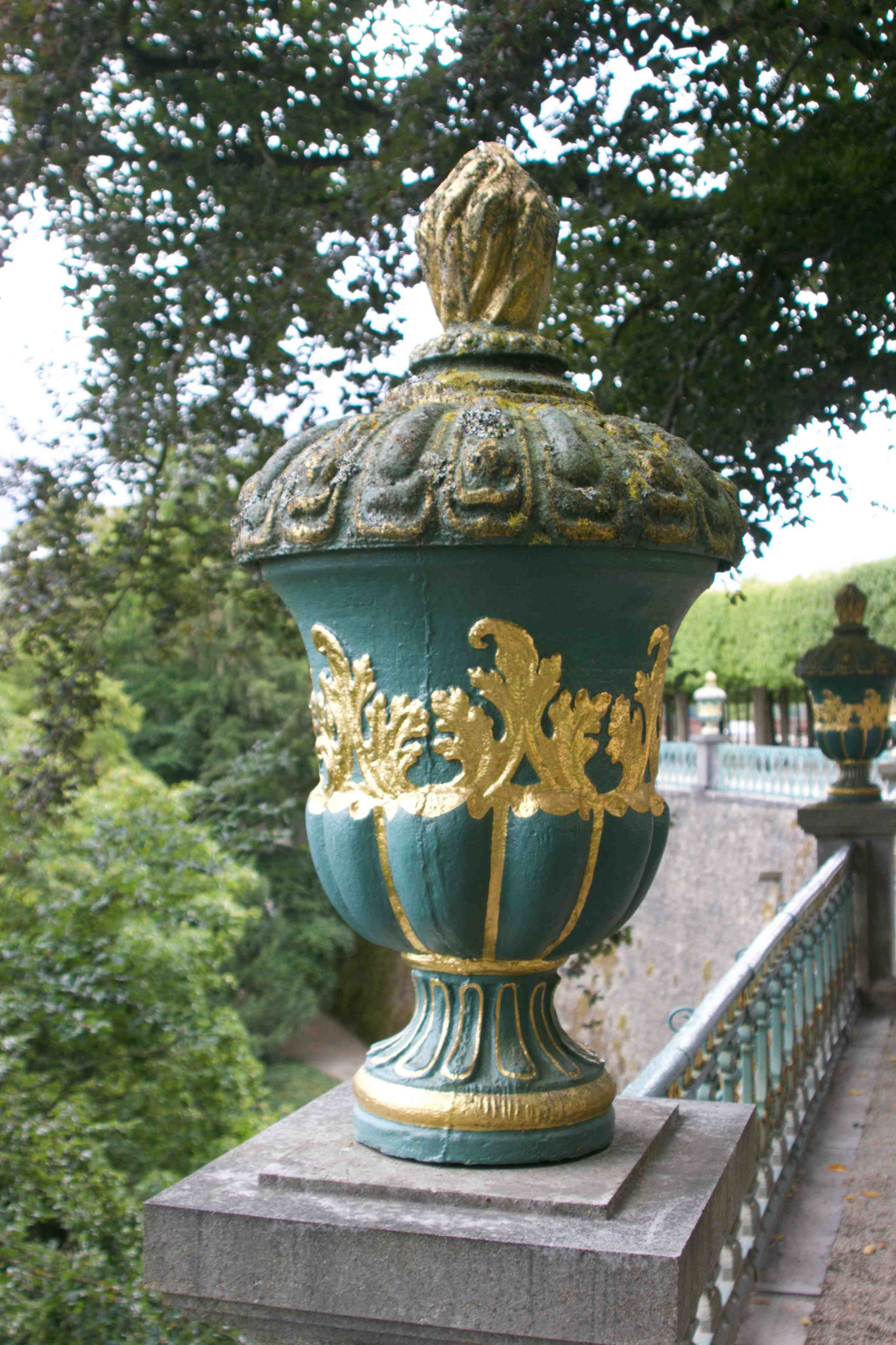 Blickfang im Schloßgarten