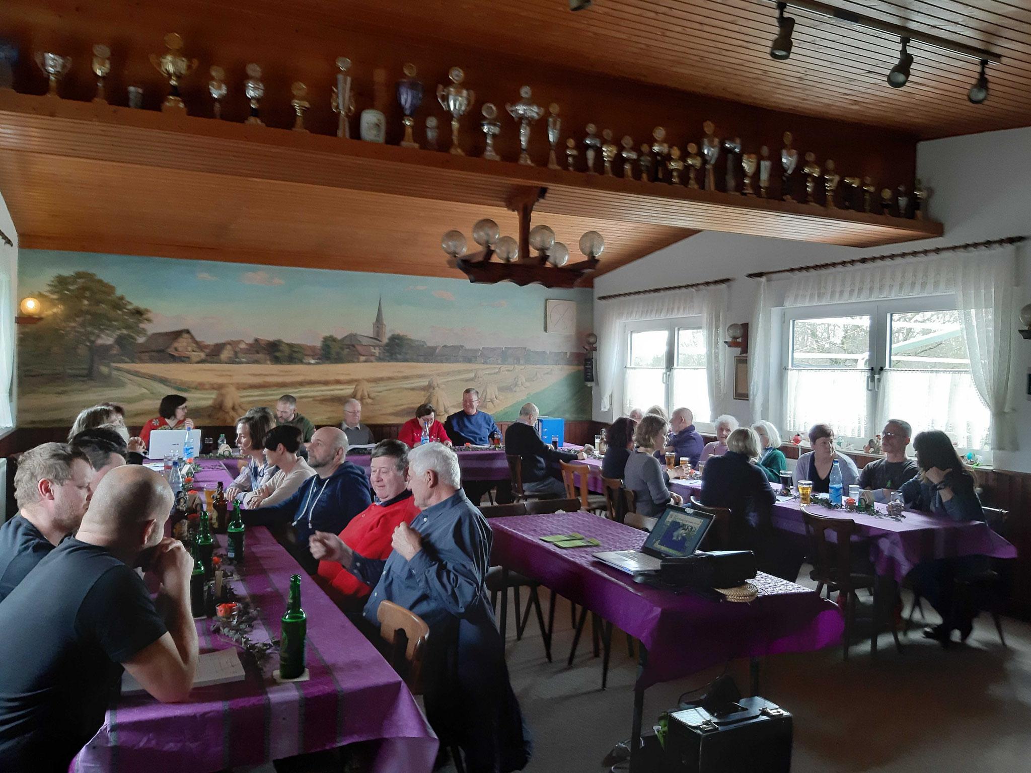 Mitgliederversammlung wieder gut besucht