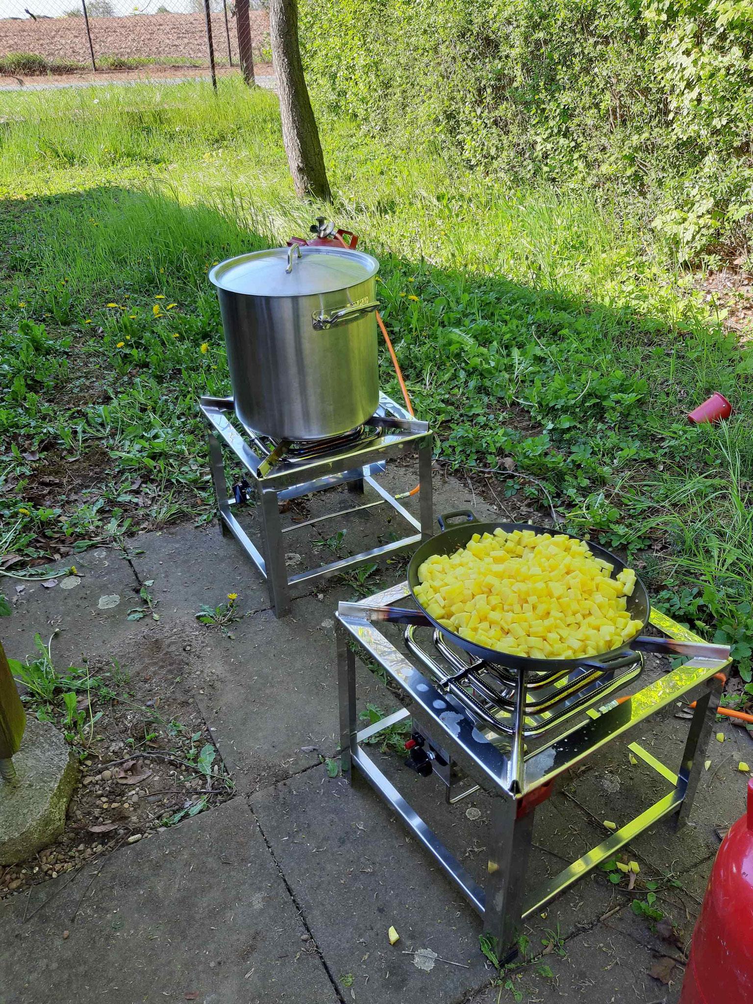 Koch - und Bratstation