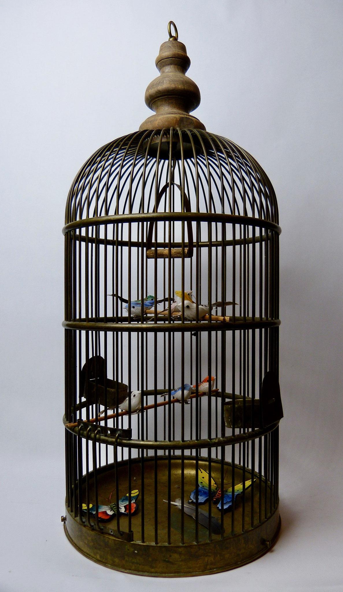 Vogelkooi van koper