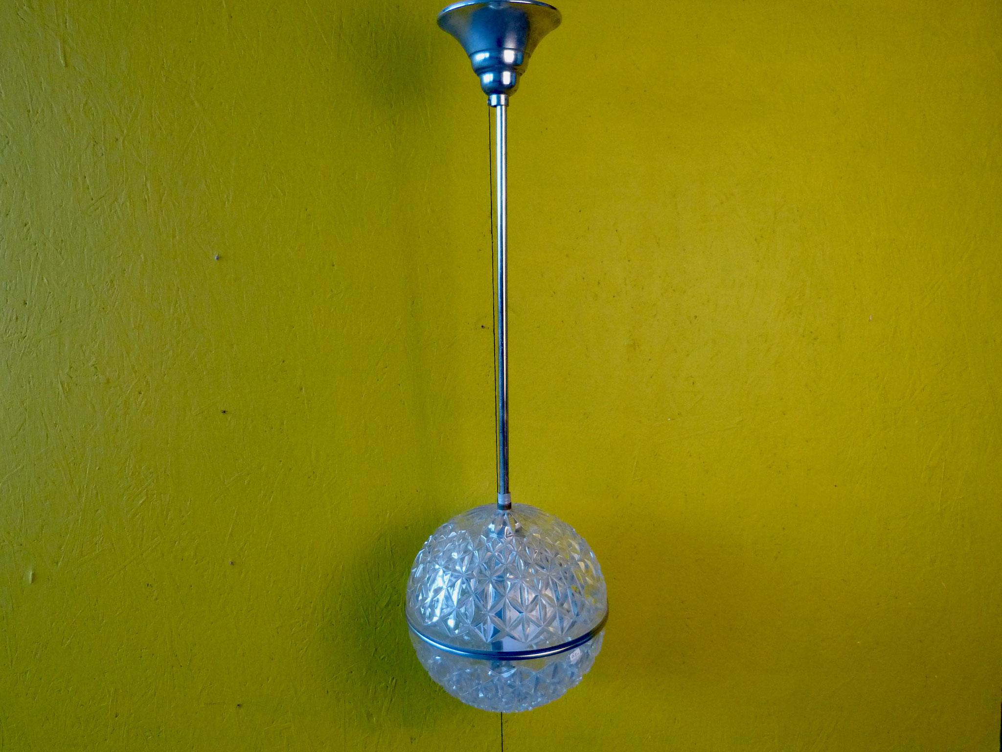 Hanglamp kristallen bol