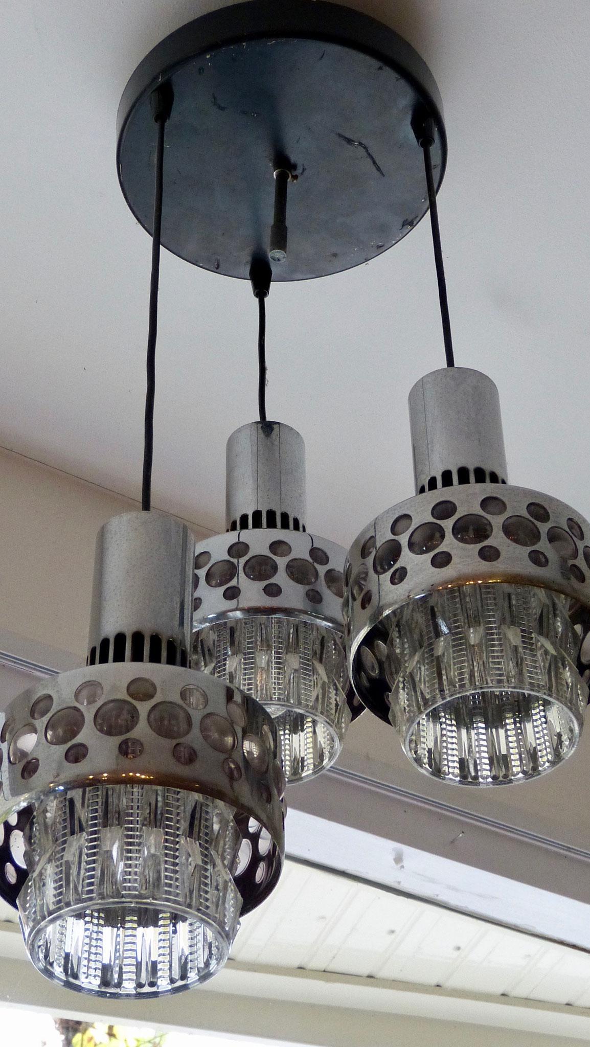 Hanglamp, 3-delig. Prijs € 115,00