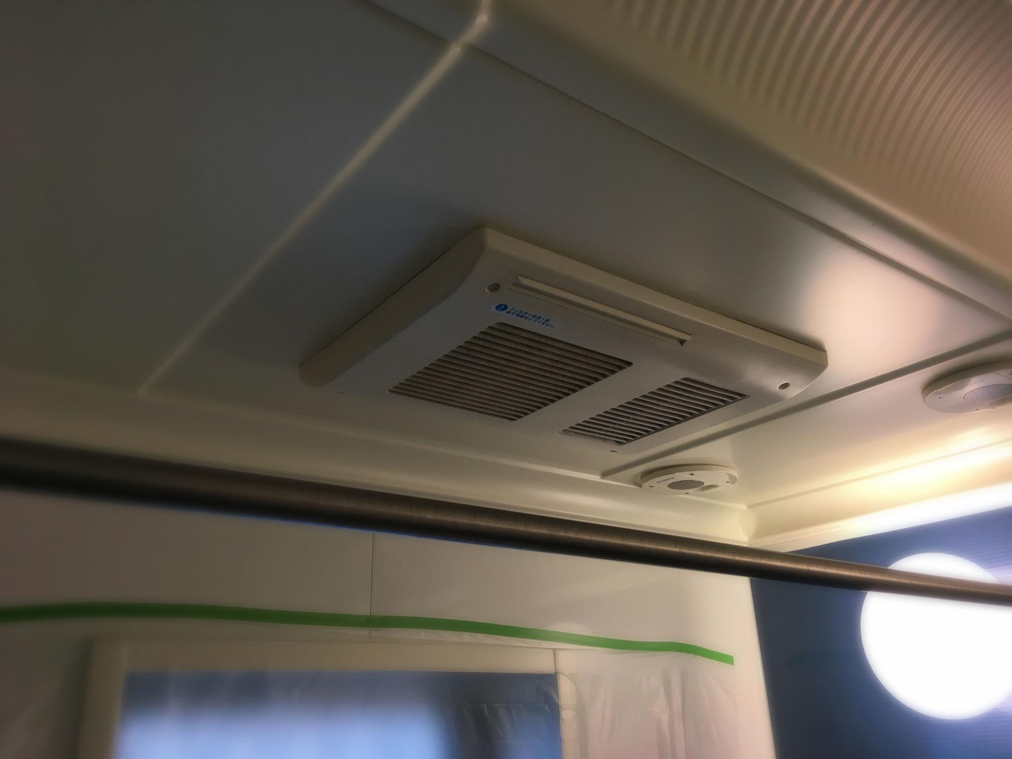 既設浴室換気乾燥暖房機です。