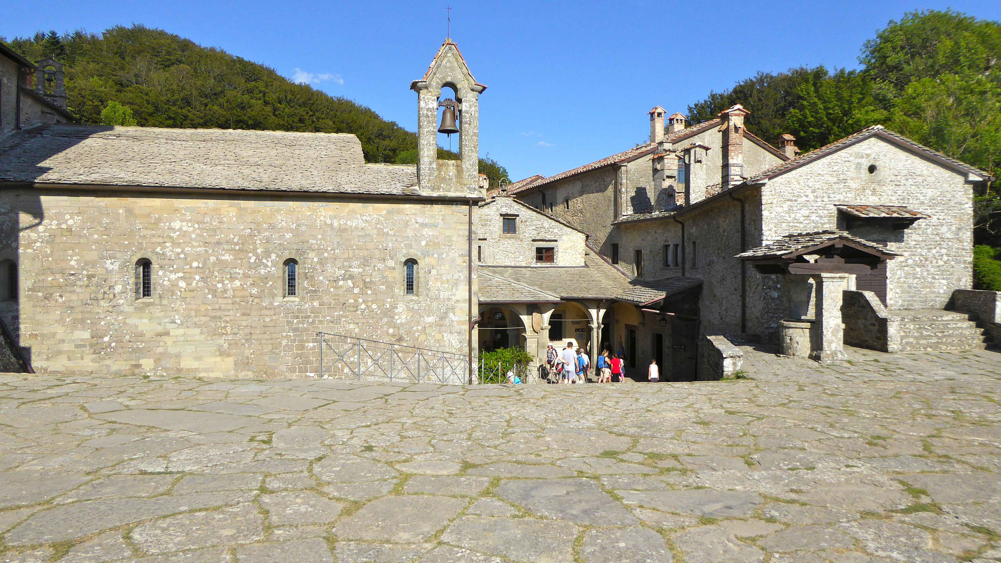 Das Kloster La Verna