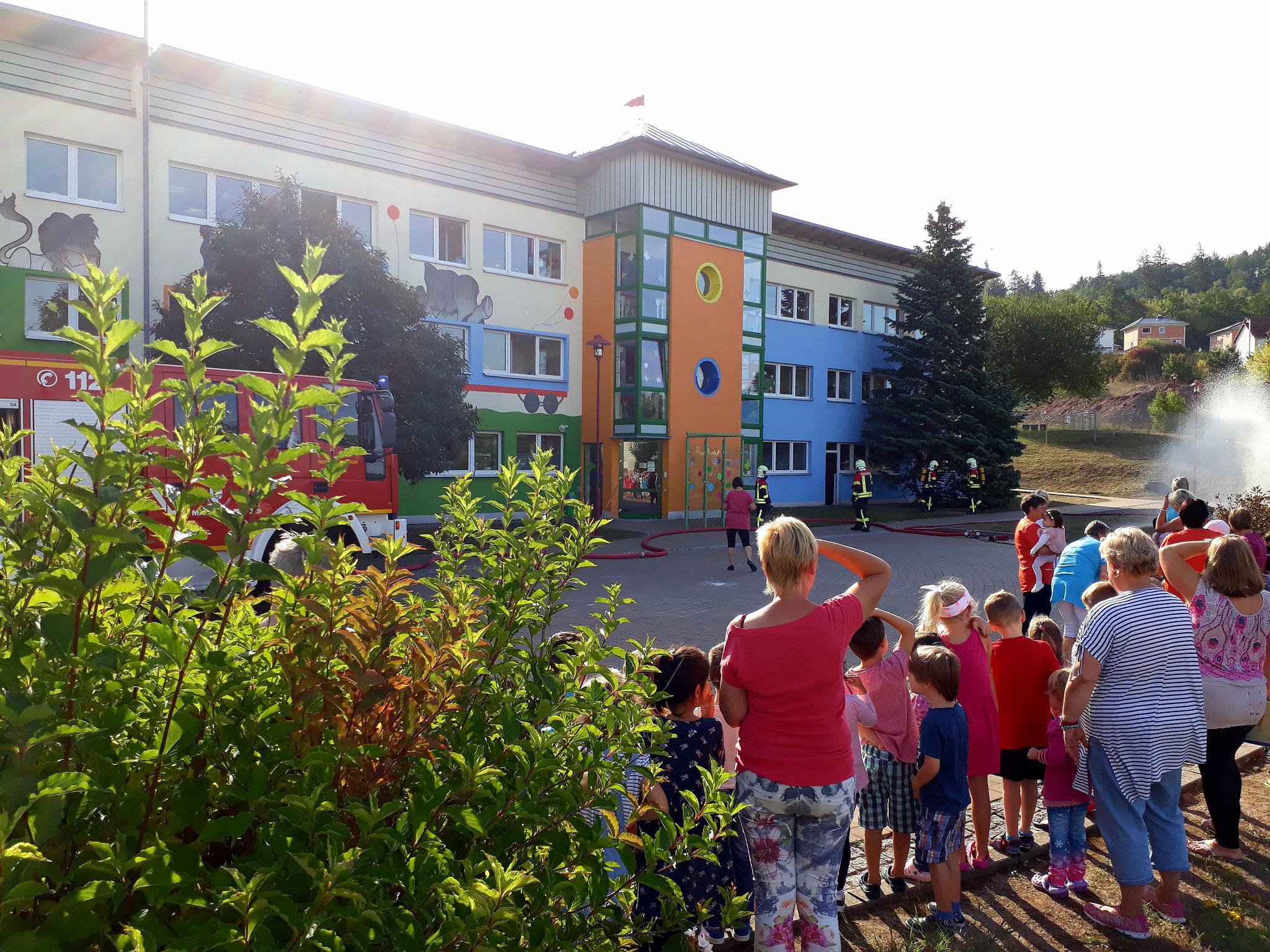 20.09.2018 Branschutzübung Kindergarten Bambino