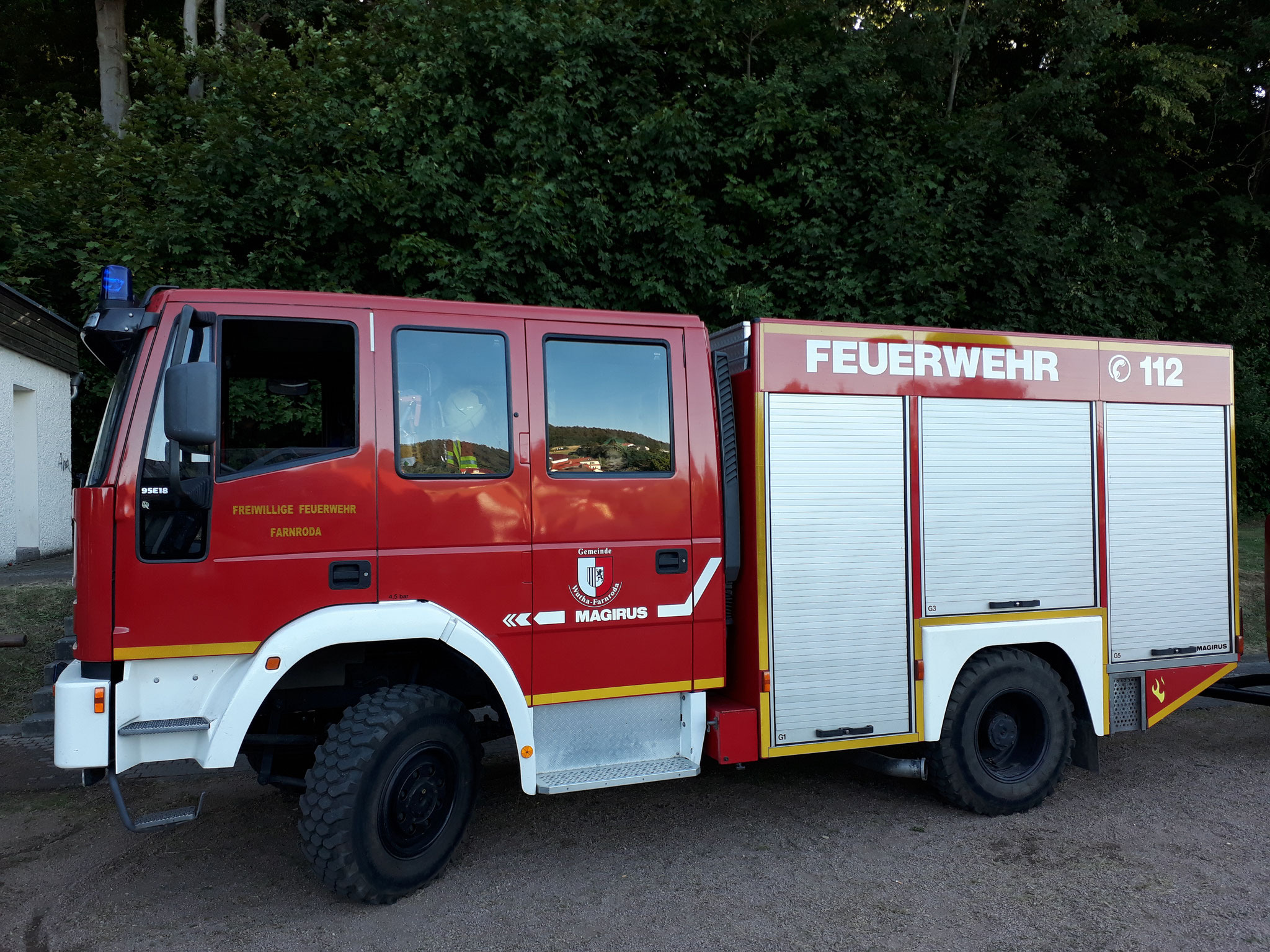 Suchbild... wo ist der Feuerwehrmann? :)