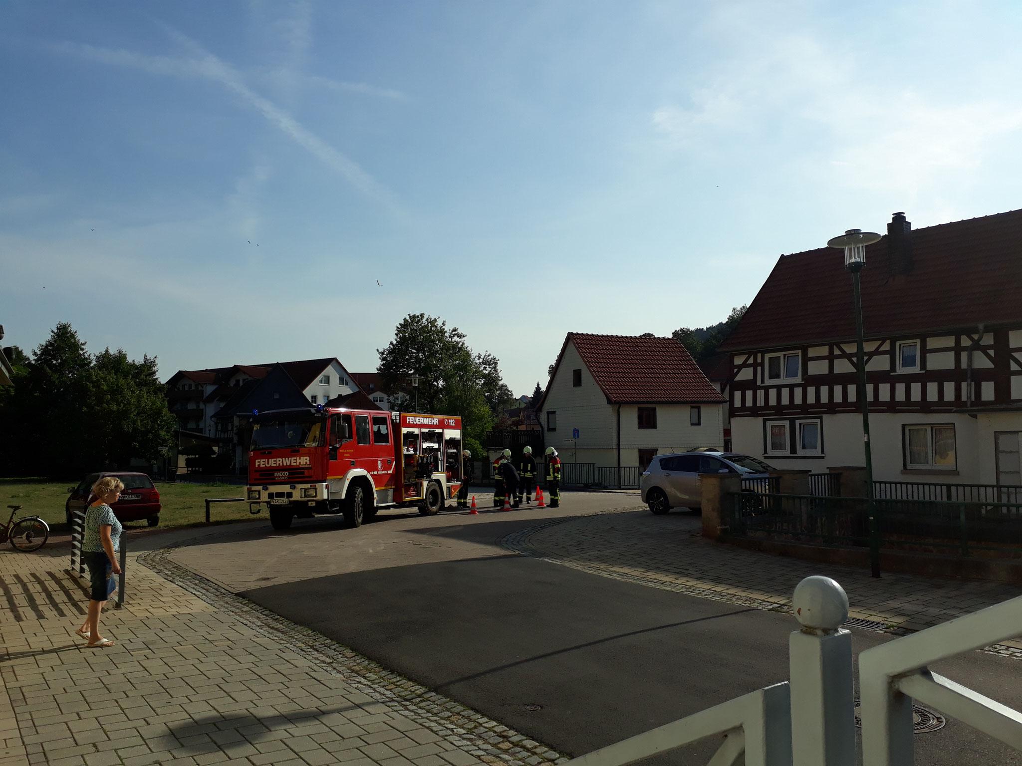 20.07.2018 Brandschutzübung - B. Anzius Kindergarten Farnroda
