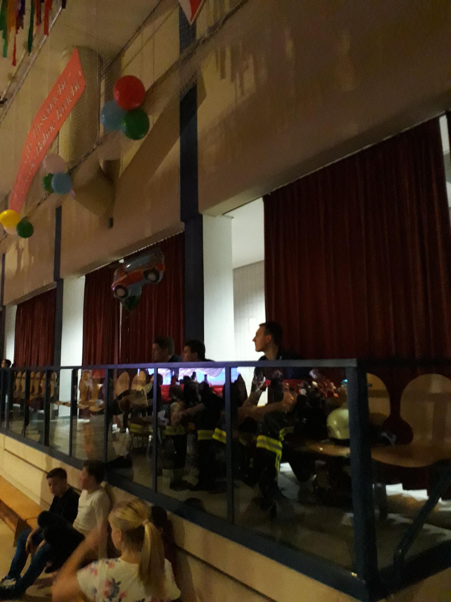 Auch in diesem Jahr übernahmen wir die Brandschutzabsicherung für den FKV in der Hörselberghalle zu allen Veranstaltungen.