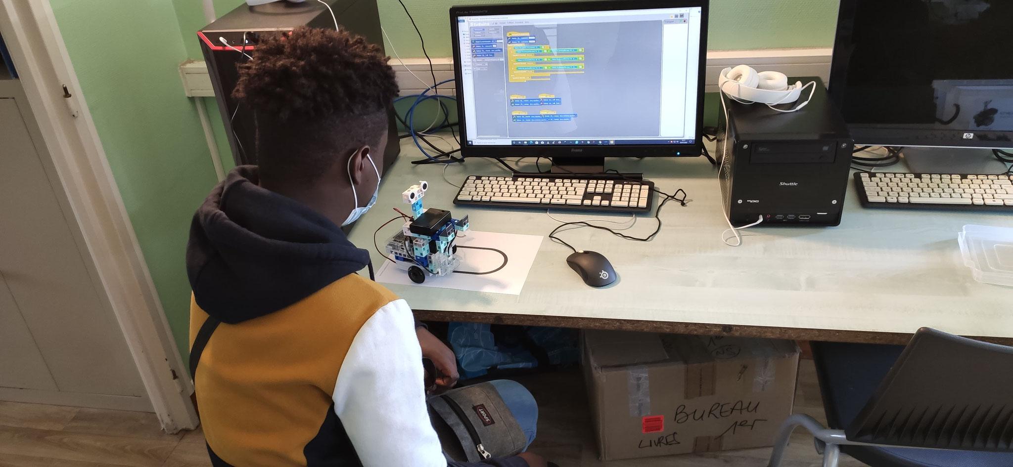 Programmation d'un robot.
