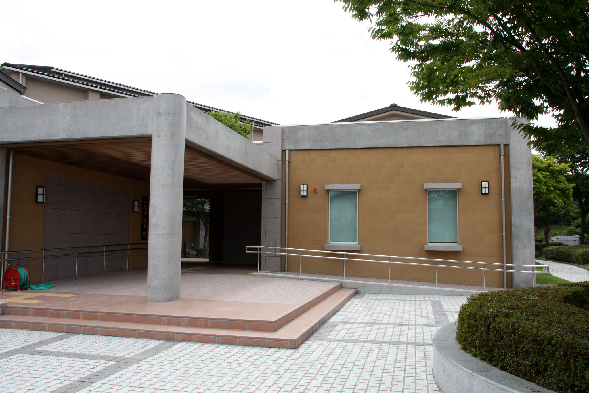 Sekishu Washi Center(from the side)