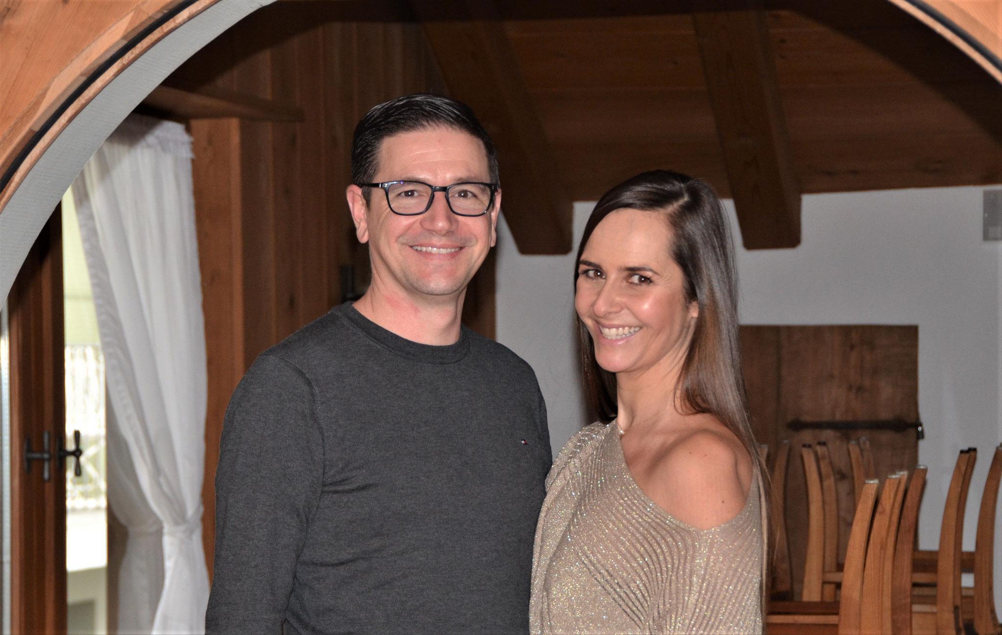Das Wirtepaar Denise Lutz & Markus Hug
