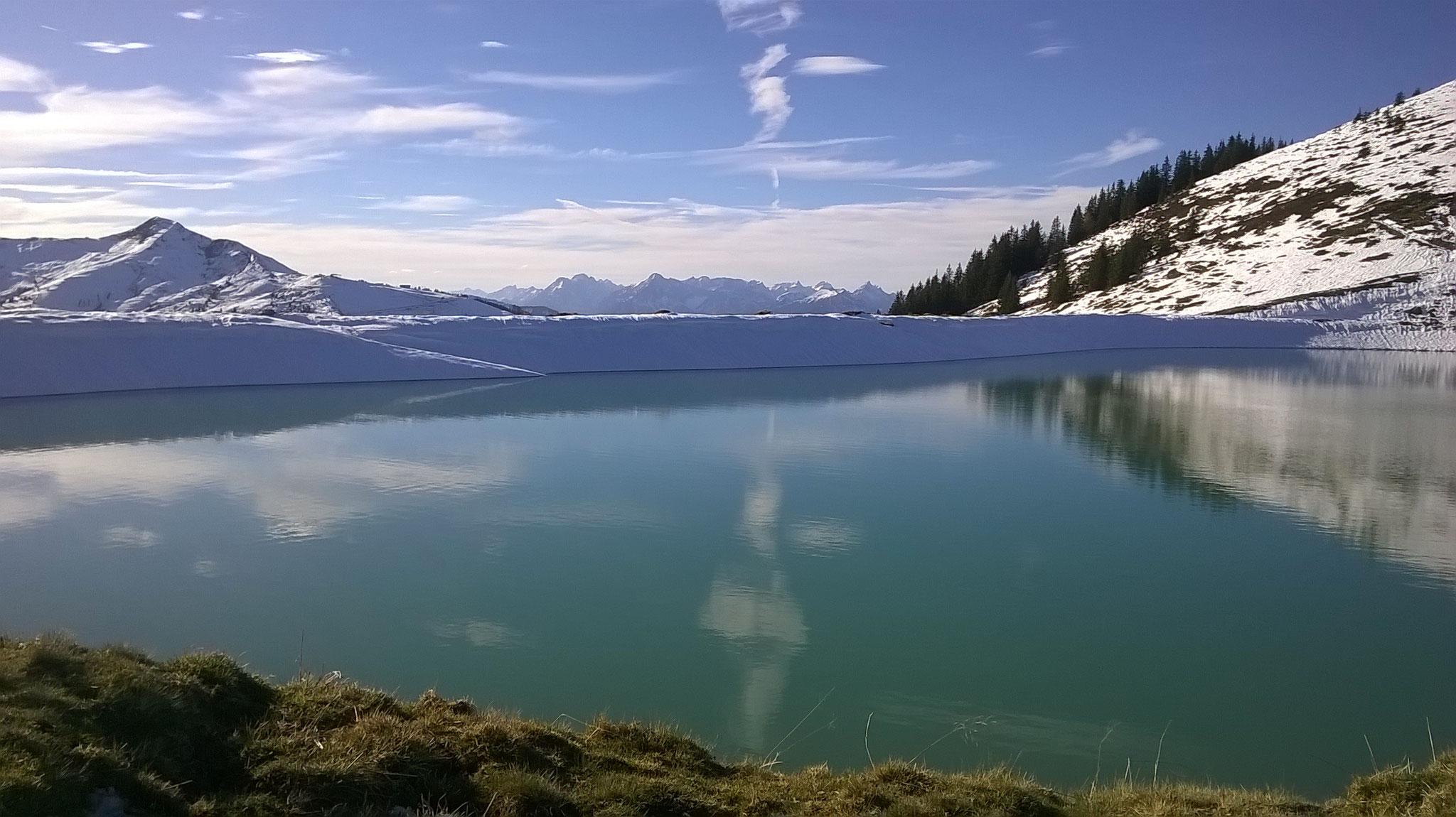 Der Teich auf der Gernalm