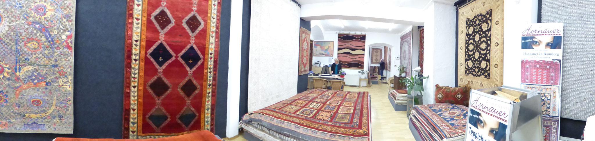Ein vielseitiges Sortiment an hochwertigen Teppichen