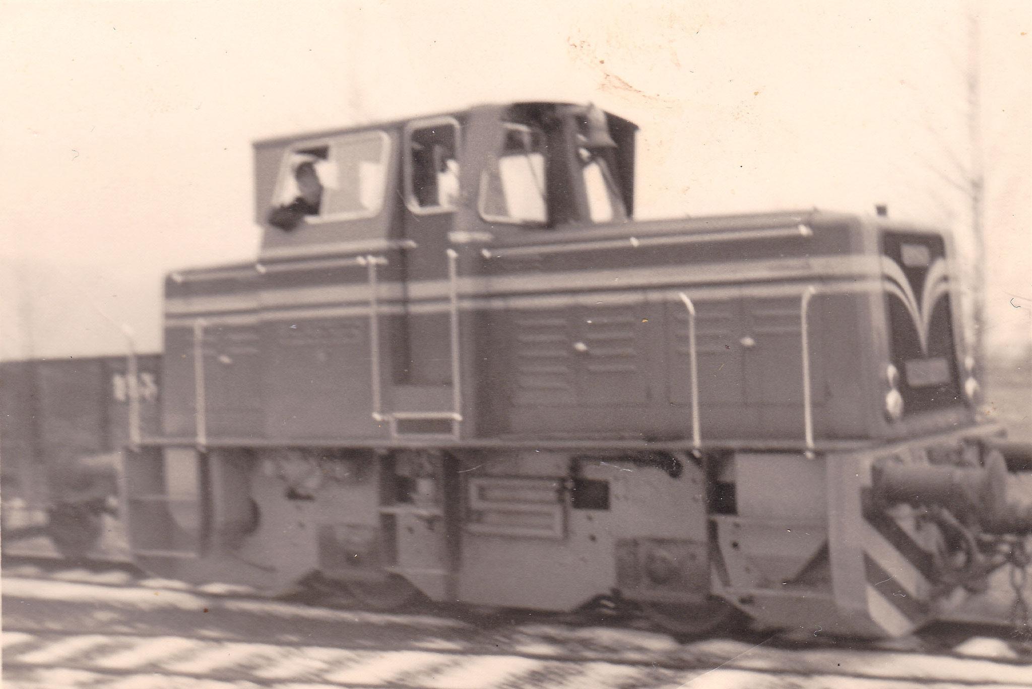 Lok 19 im Jahre 1959                                                                         Foto Würges