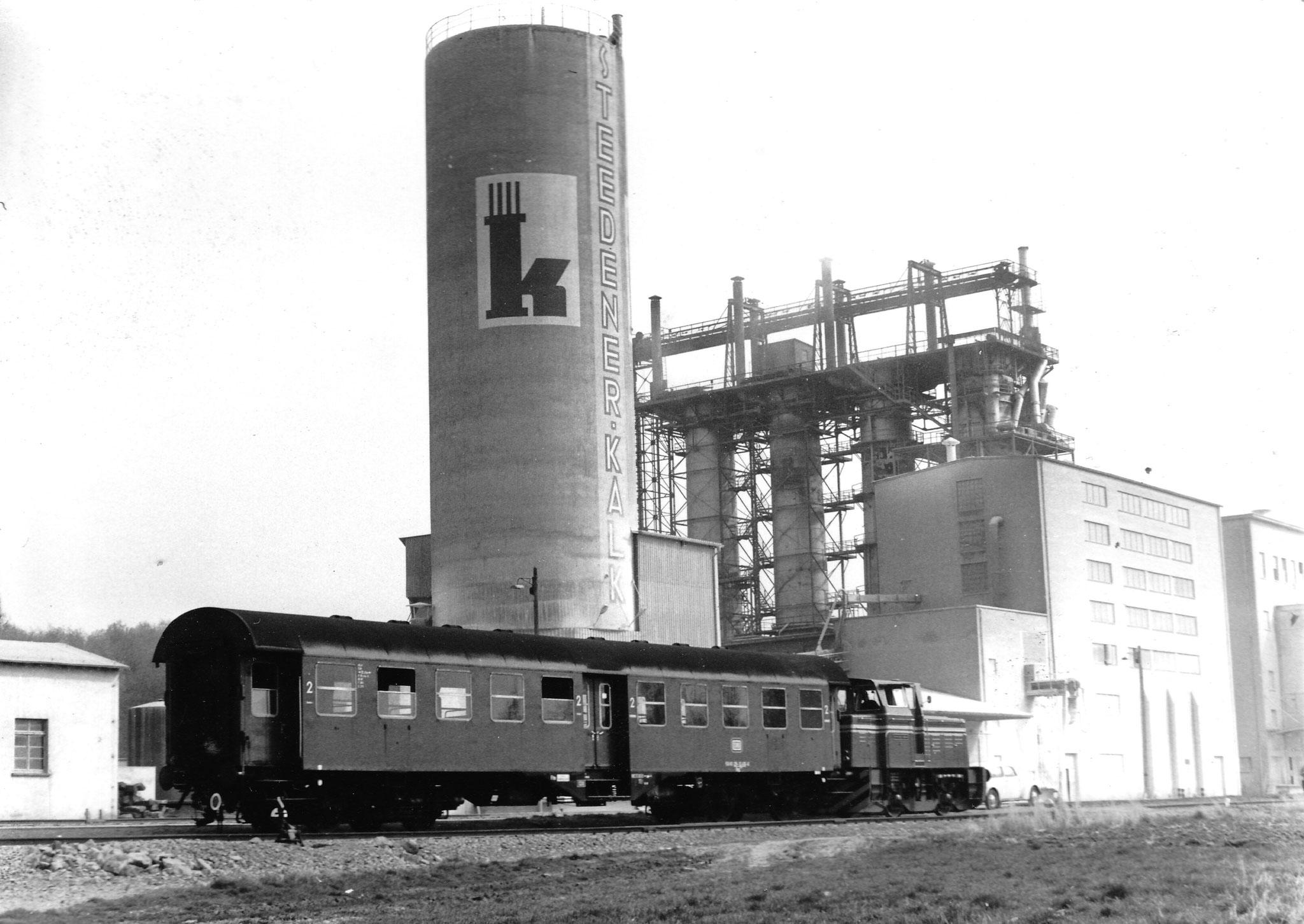 Im März 1974 bereiste eine Delegation der DB die Kerkerbachbahn wegen der geplanten Übernahme