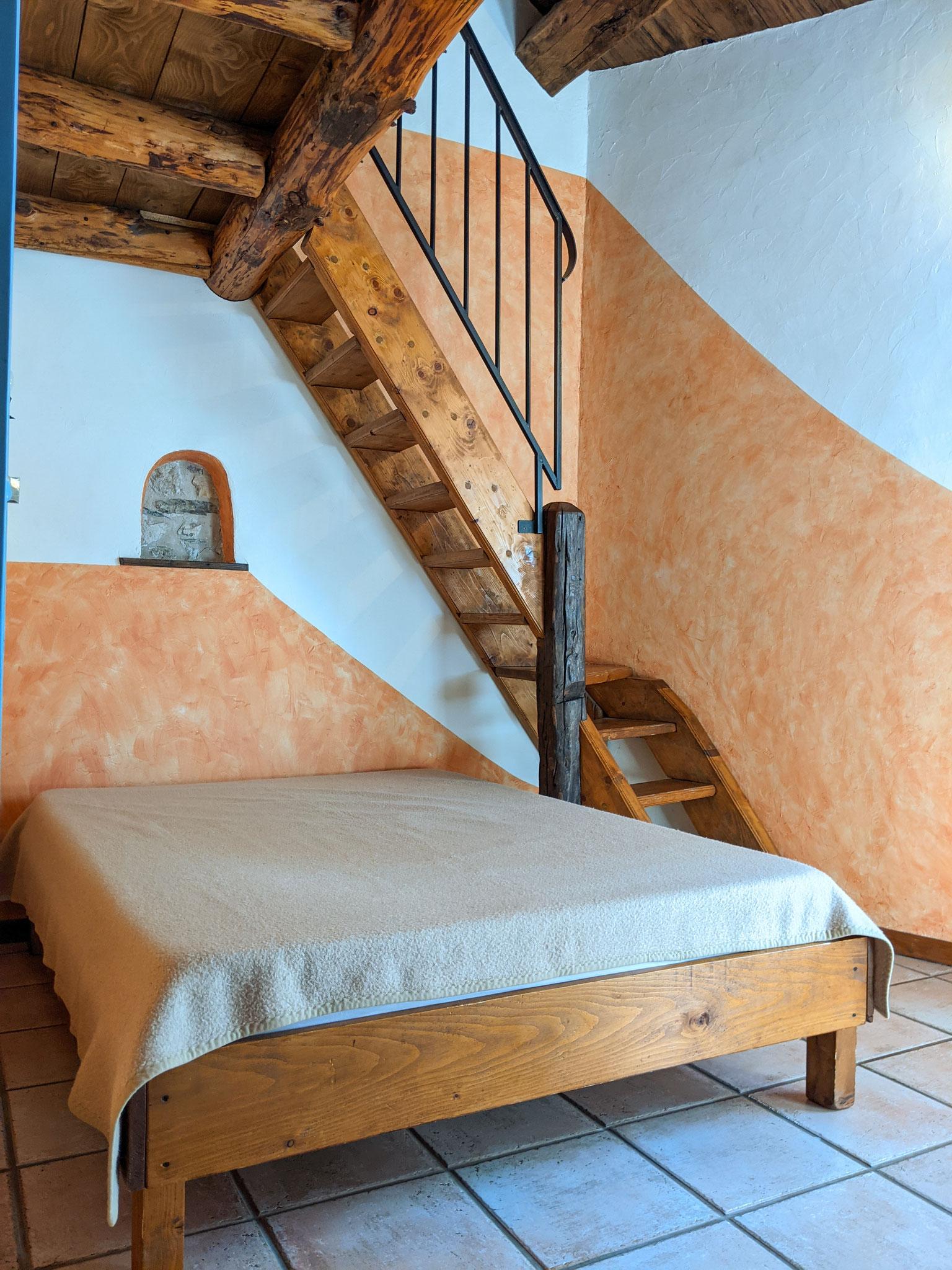 Chambre n°2 : 1 lit x 140
