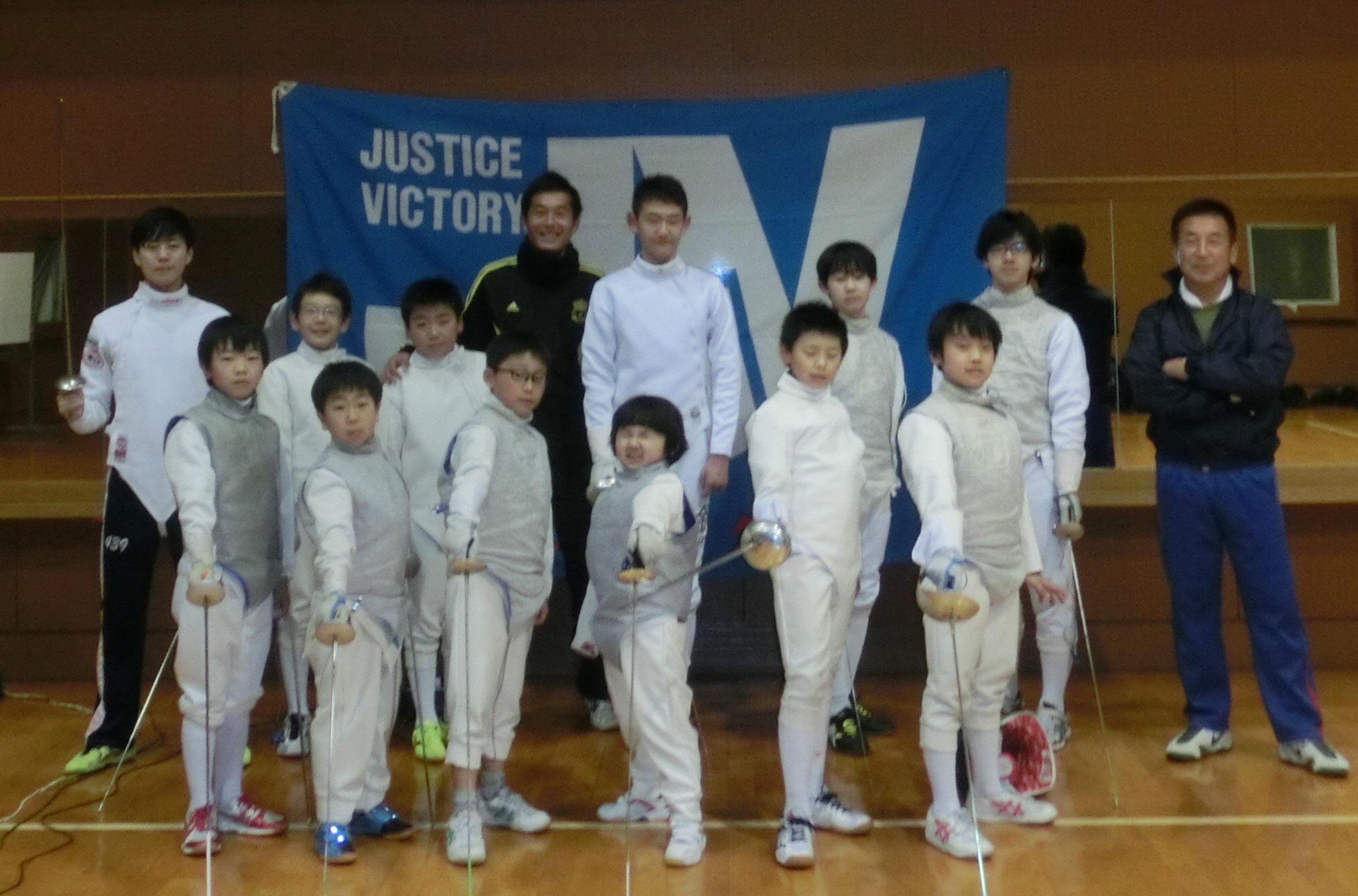 JVフェンシングチーム♪