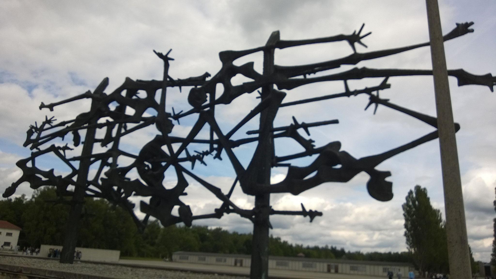 Dachau Monument Nandor Glid
