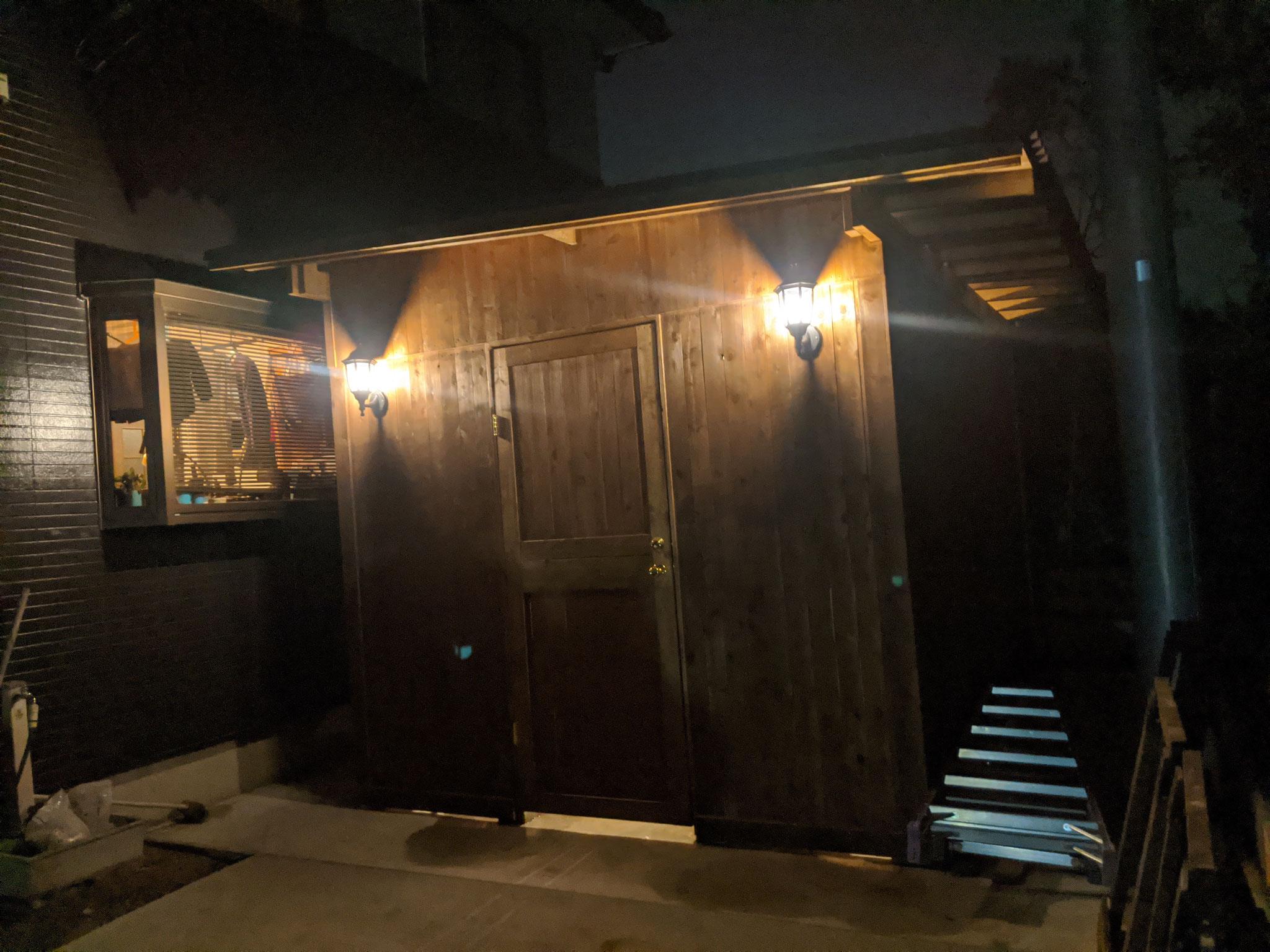 ロングボード小屋