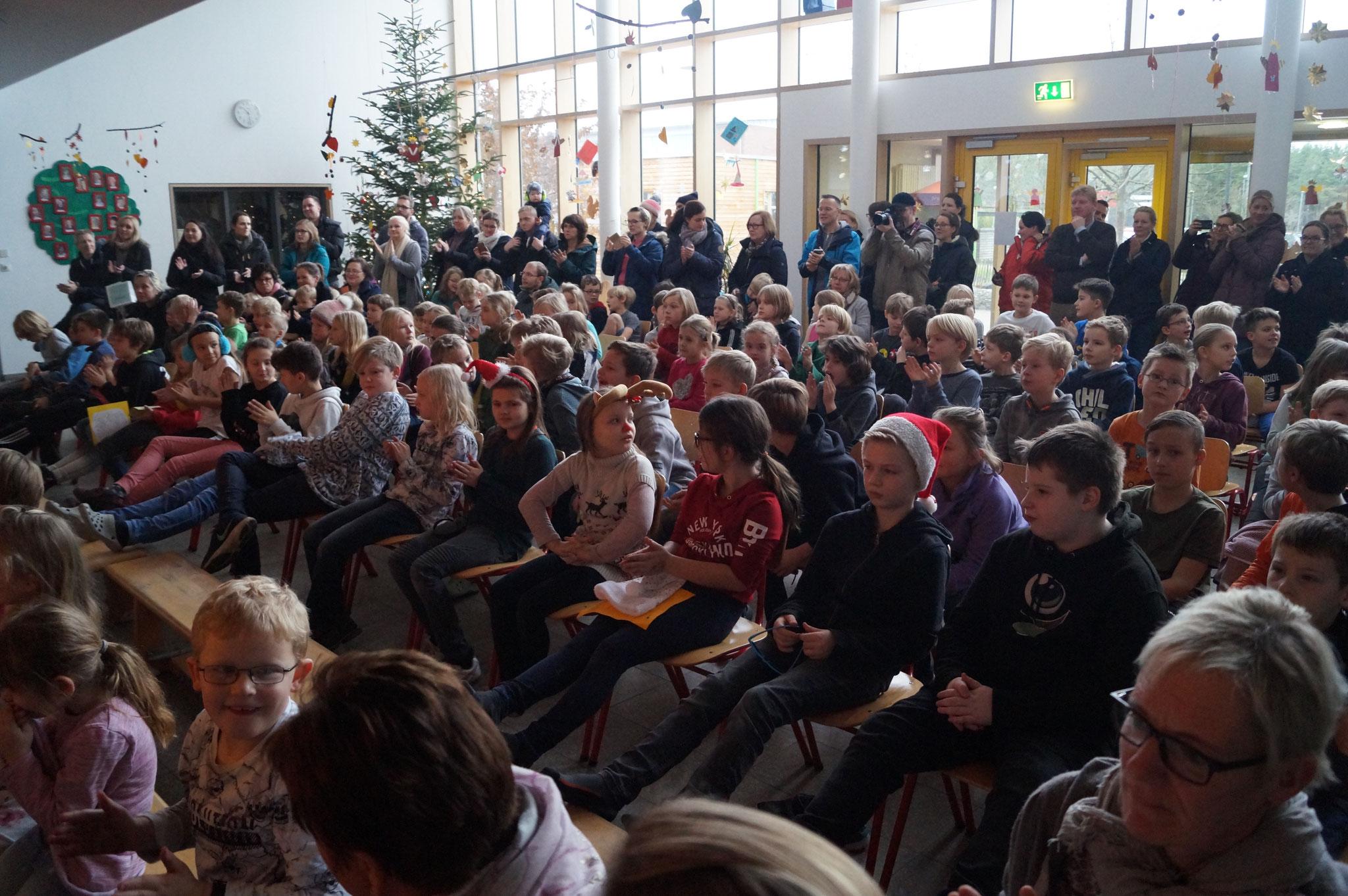 Das Publikum erschien wie immer zahlreich.