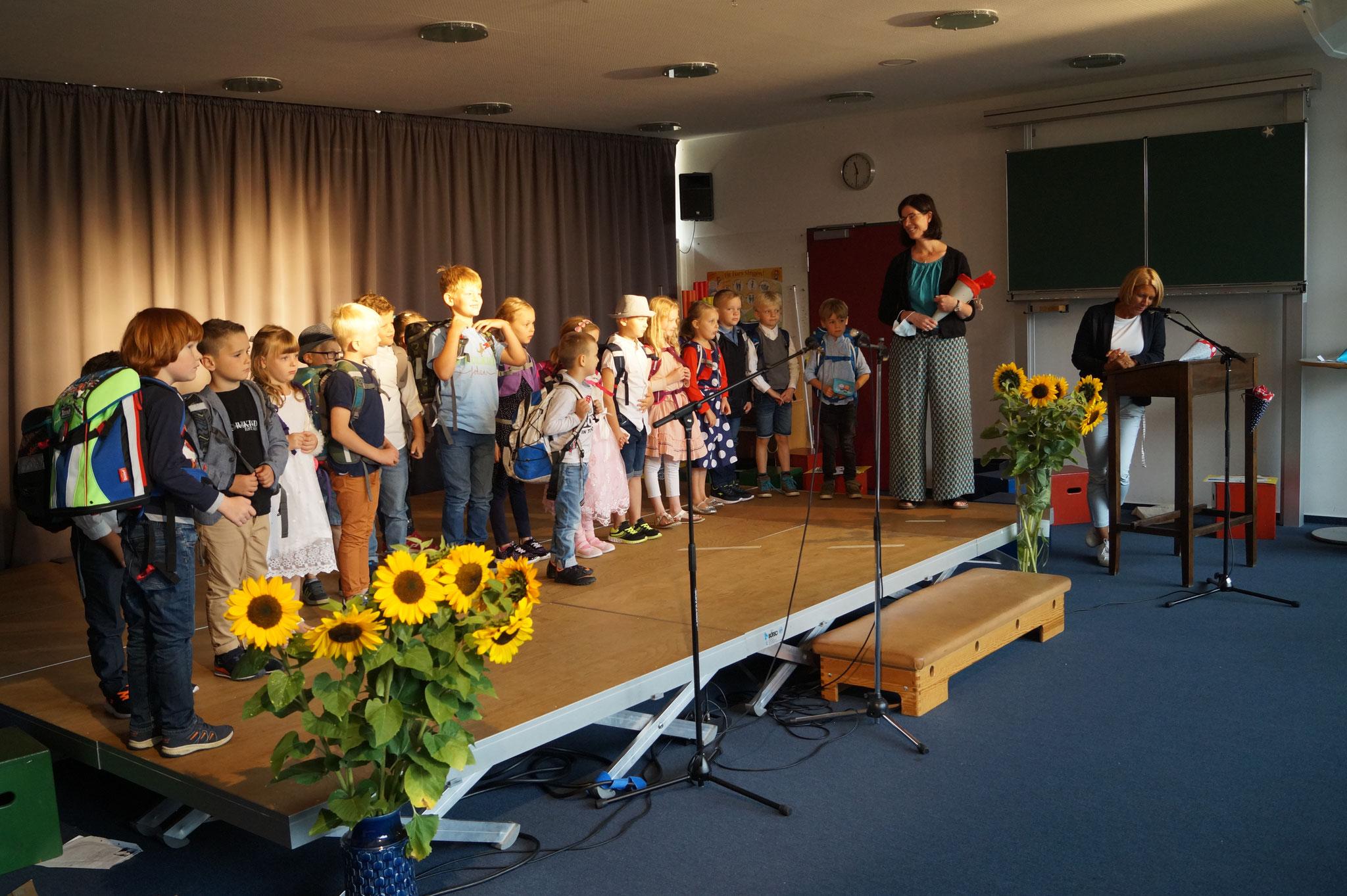 Frau Müller mit der Marienkäferklasse
