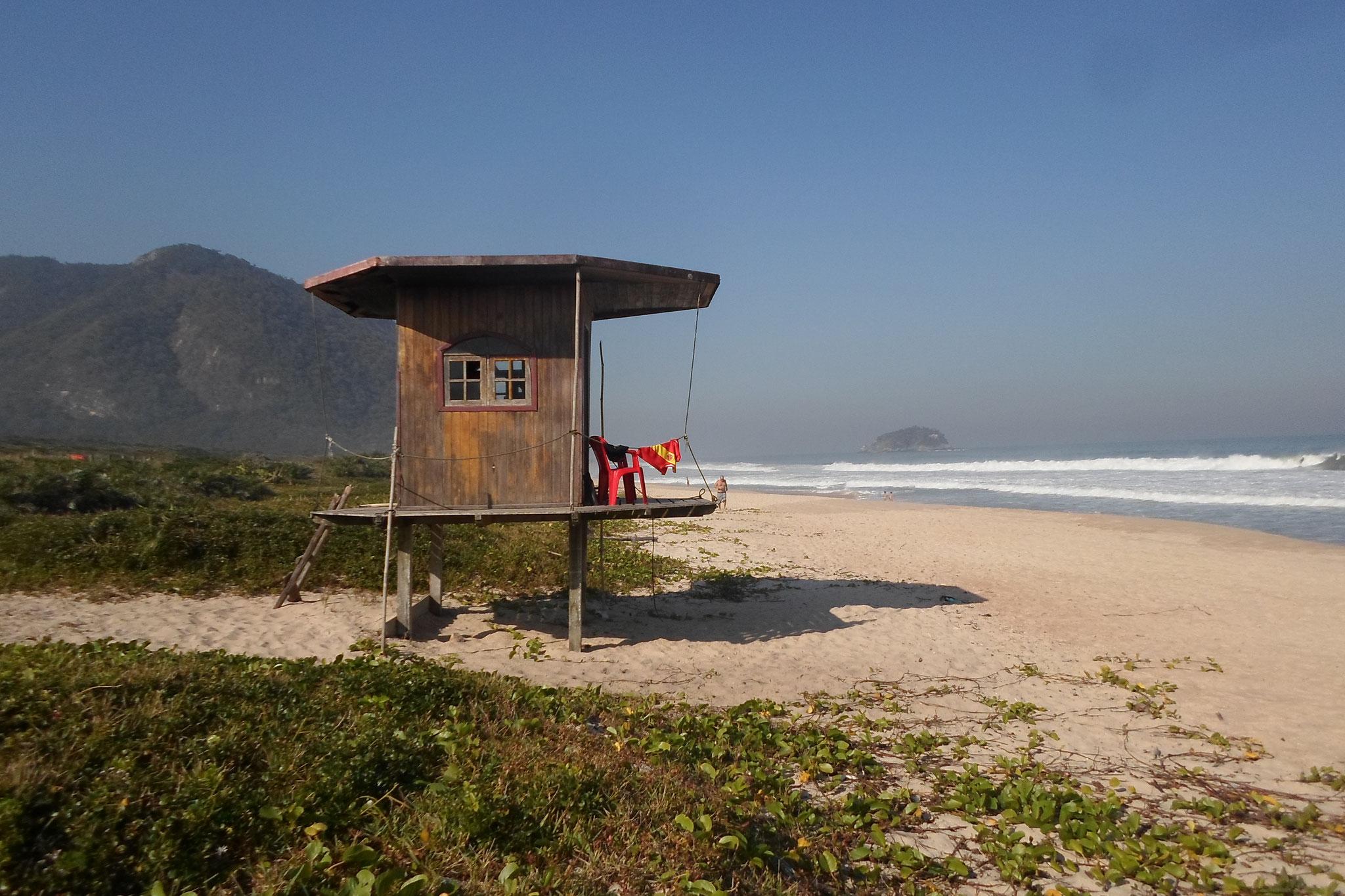 Grumari, plage préservée