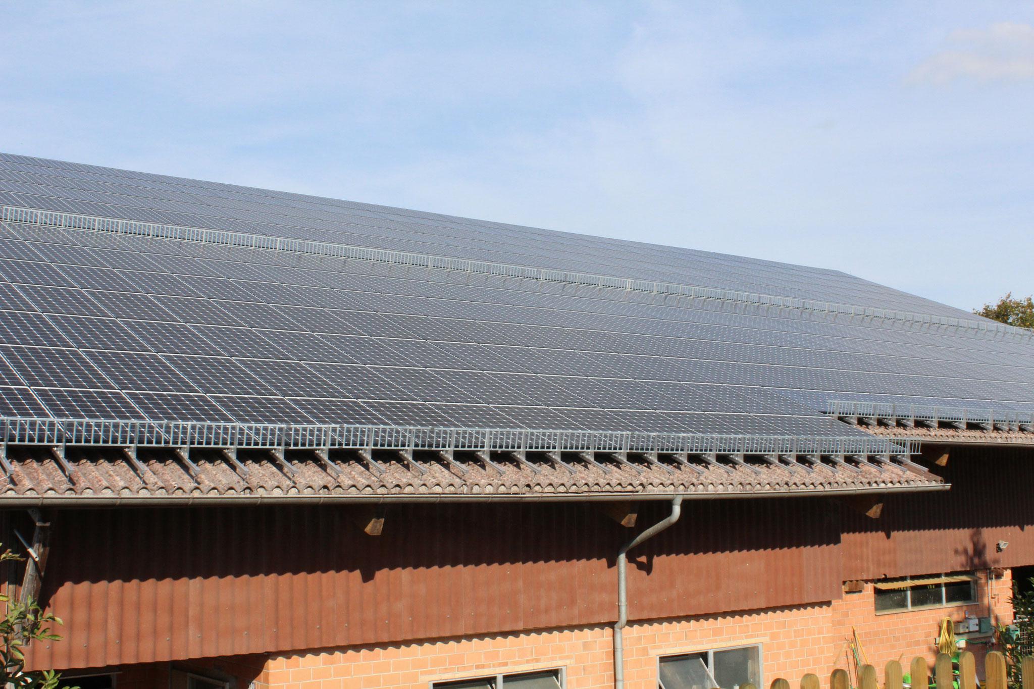 Photovoltaikanlage auf Scheunendach