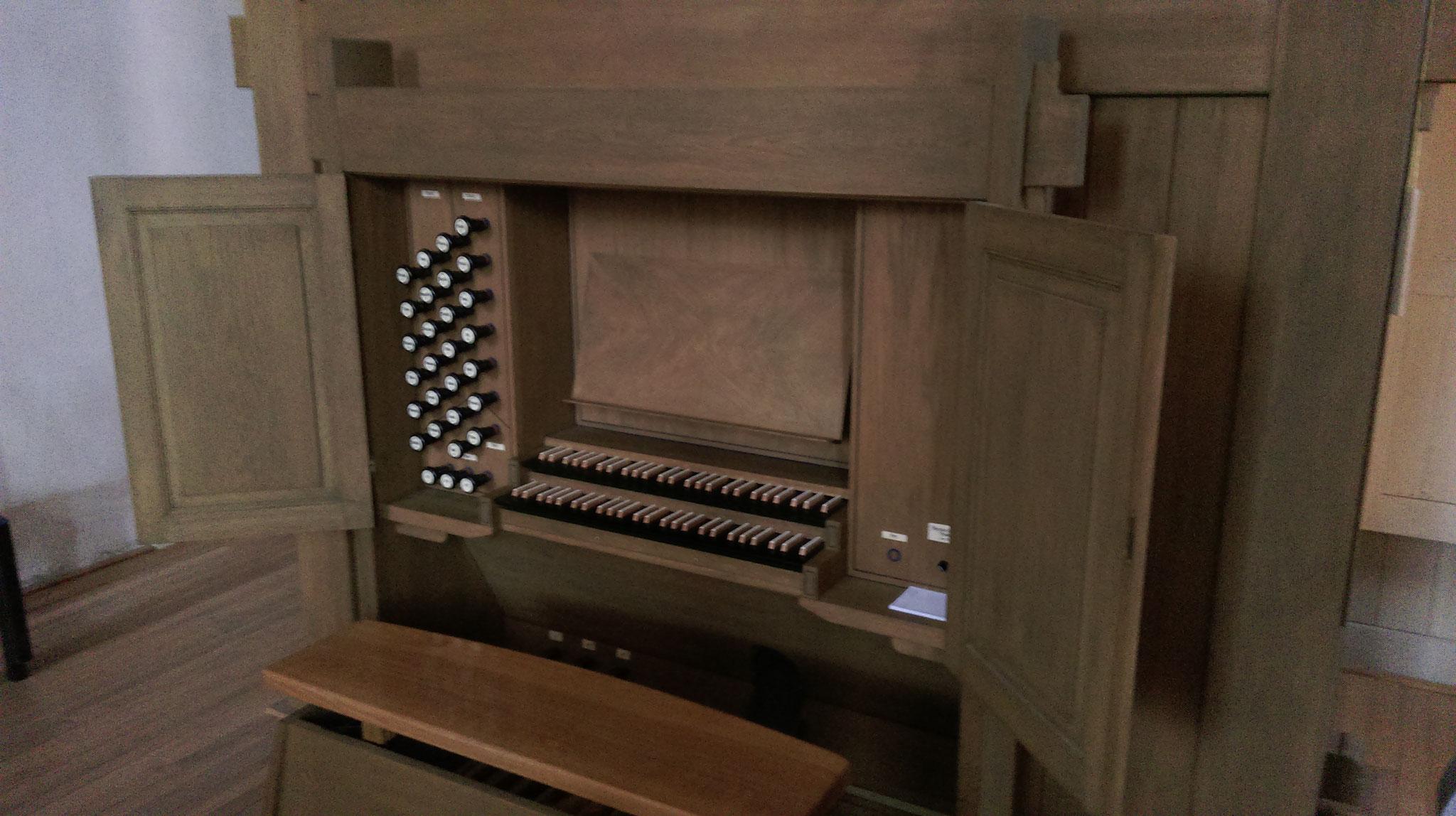 Orgel in der Burgkirche Querfurt
