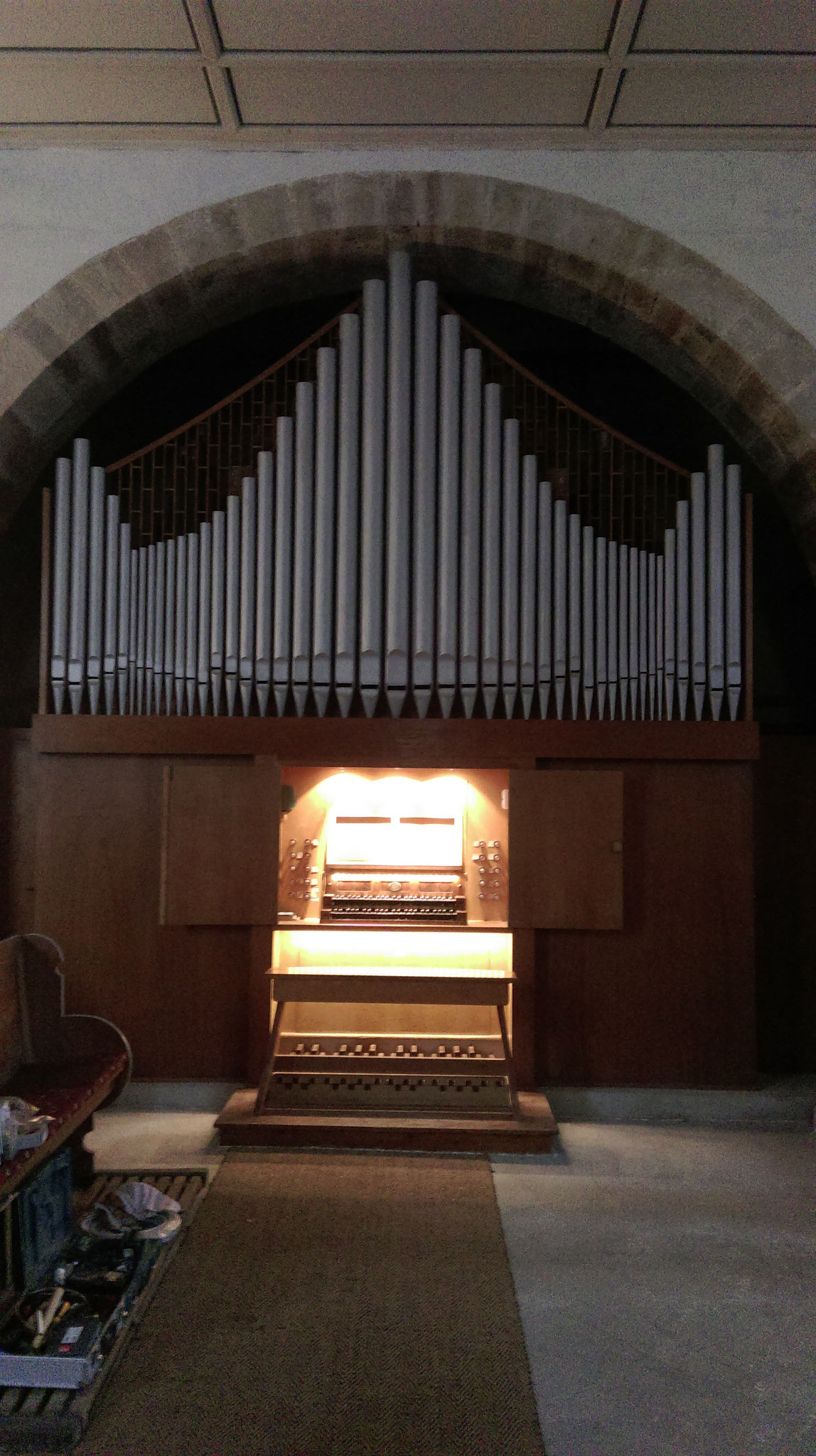 Orgel in Wolferstedt
