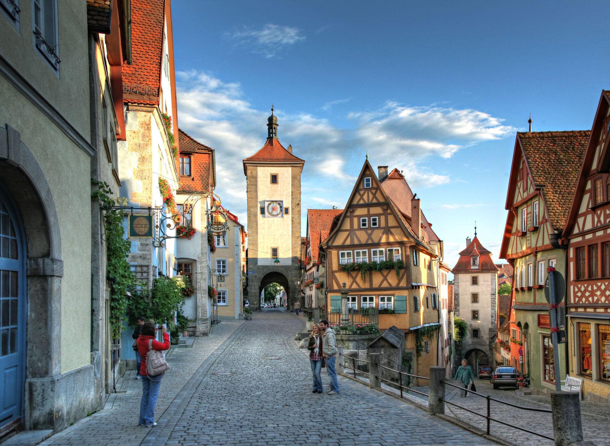 Historische Altstadt Rothenburg o. d. Tauber