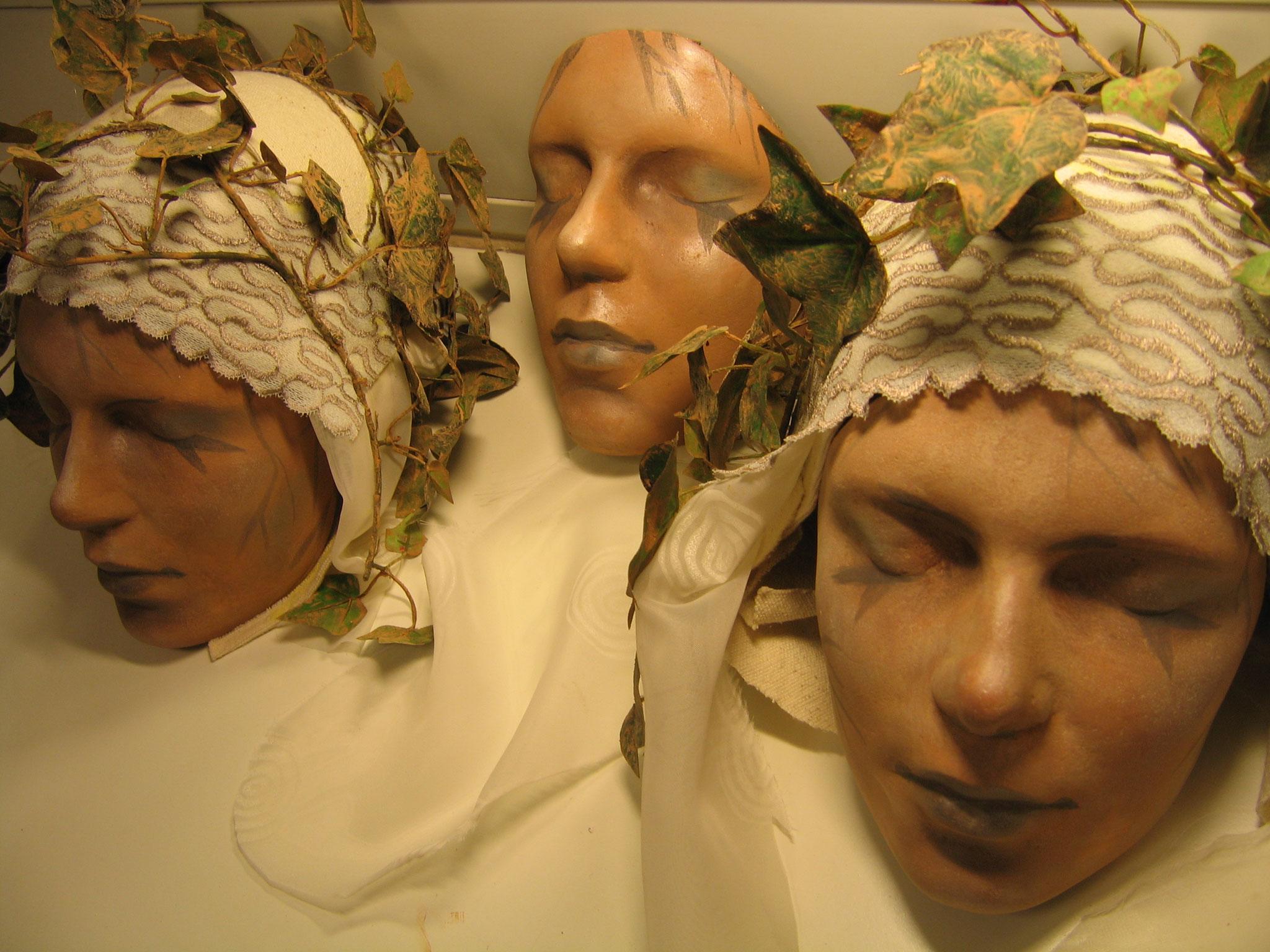 masques Yana Teatret - Copenhague