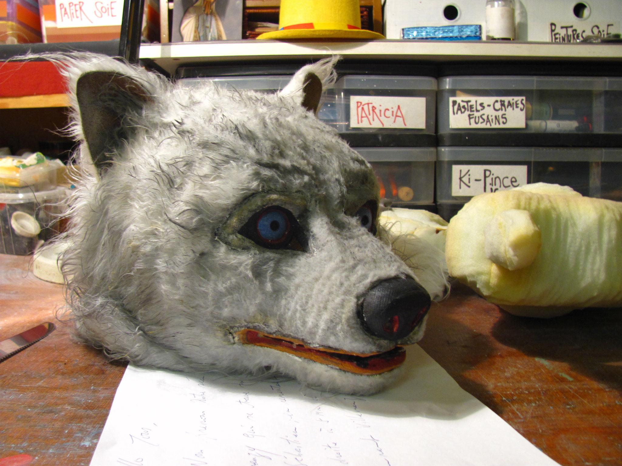Masque Loup Cie Halte