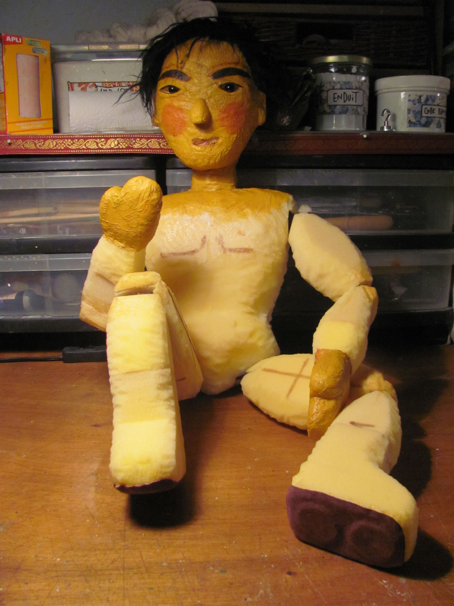 Marionnette d'Annie
