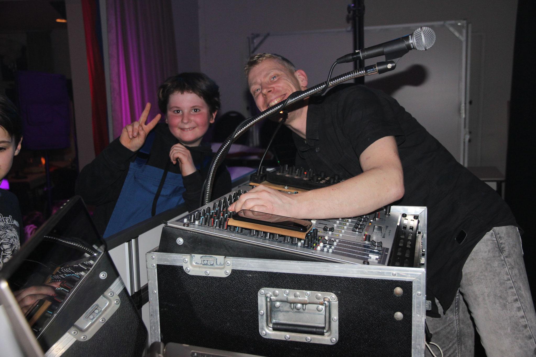 DJ Alex machte sich mit guter Musik viele neue Fans
