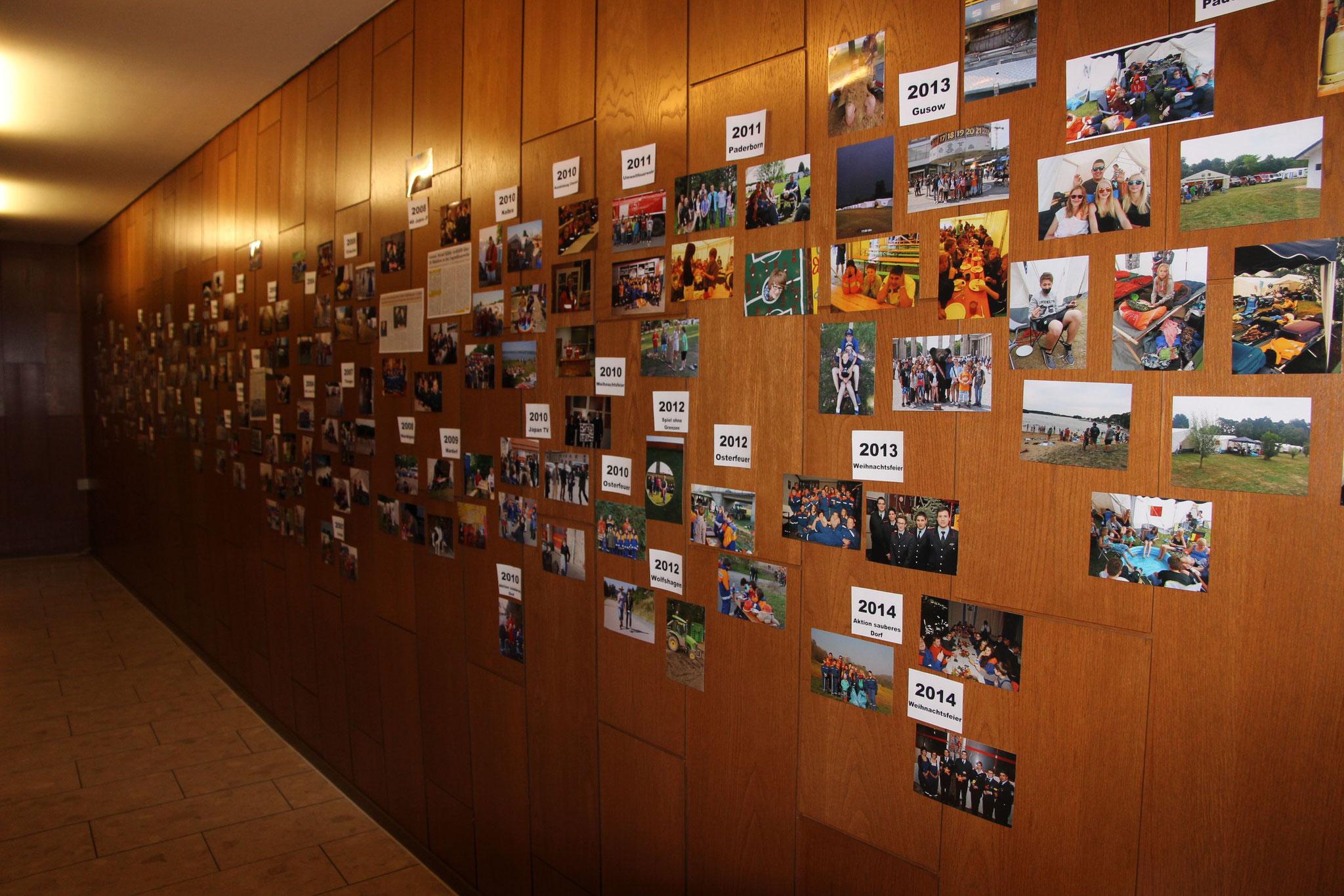 Fotostrecke 50 Jahre Jugendfeuerwehr Greene