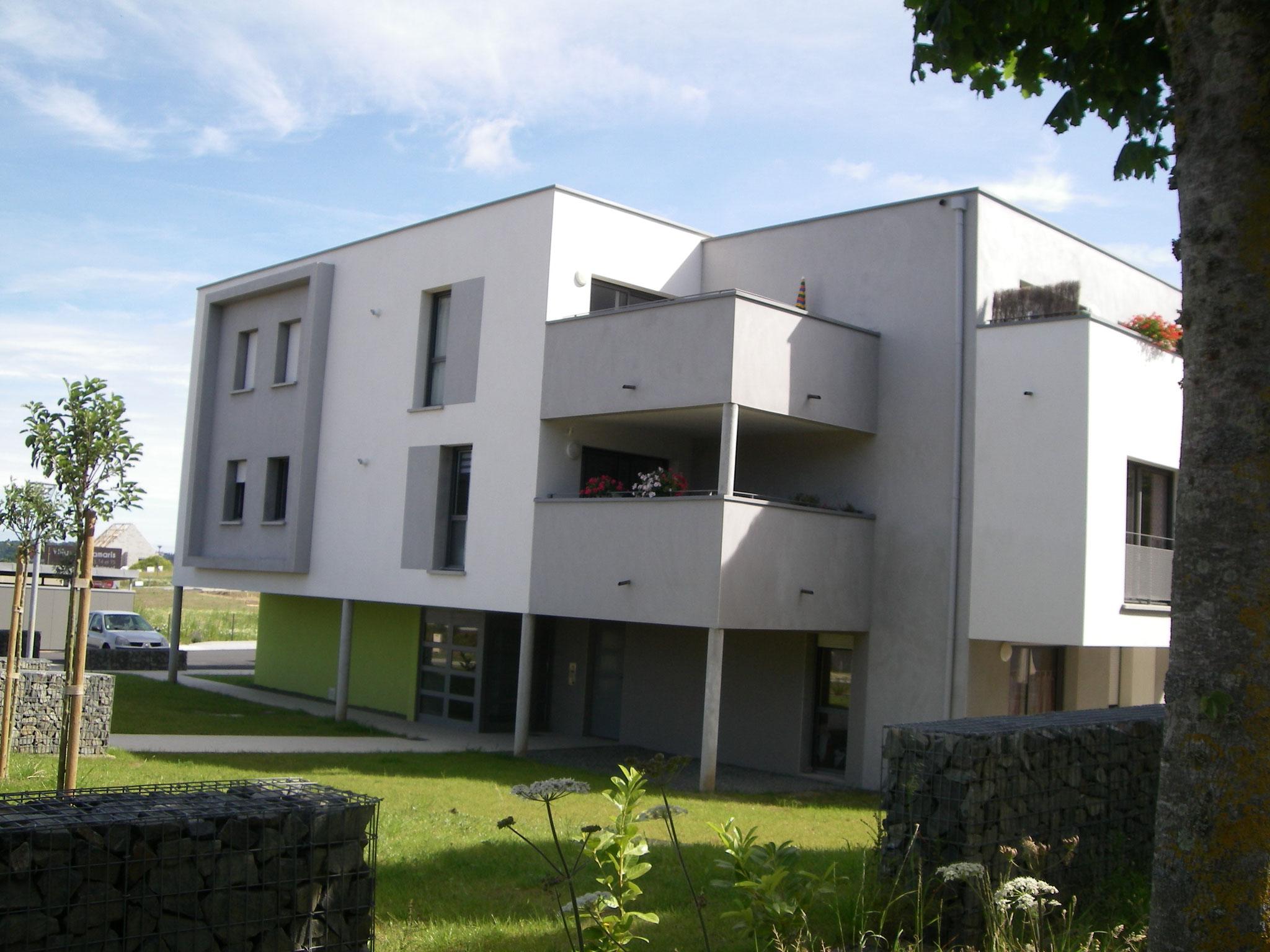 Collectif de 20 logements locatifs sociaux (SA LA RANCE)
