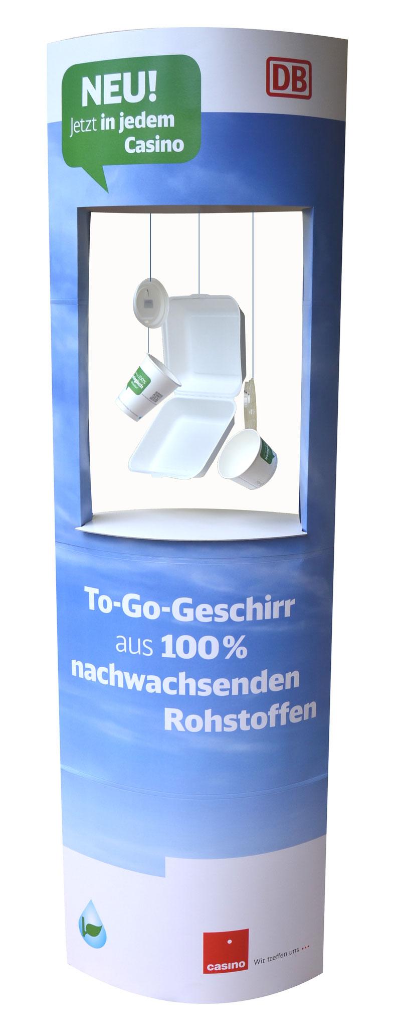 """Ellipsenaufsteller """"Deutsche Bahn"""""""