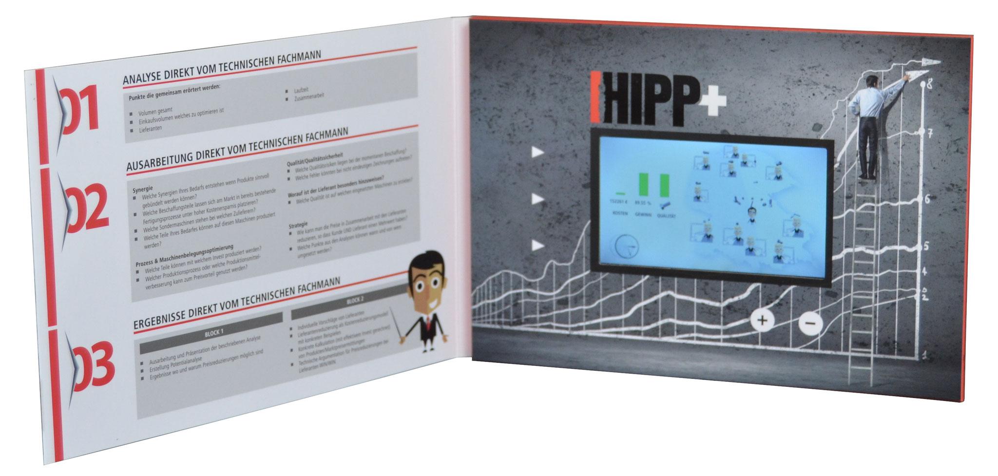 Video-Card Hipp innen