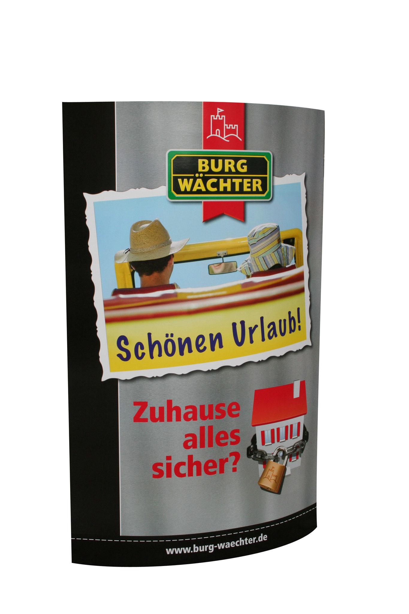"""Ellipsenaufsteller """"Burgwächter"""""""