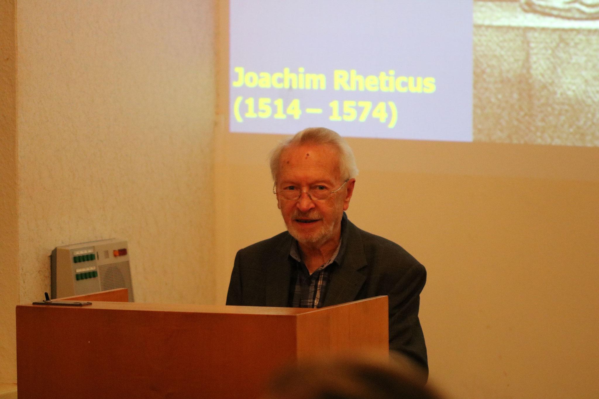 Prof. Dr. Dieter B. Herrmann's Vortrag