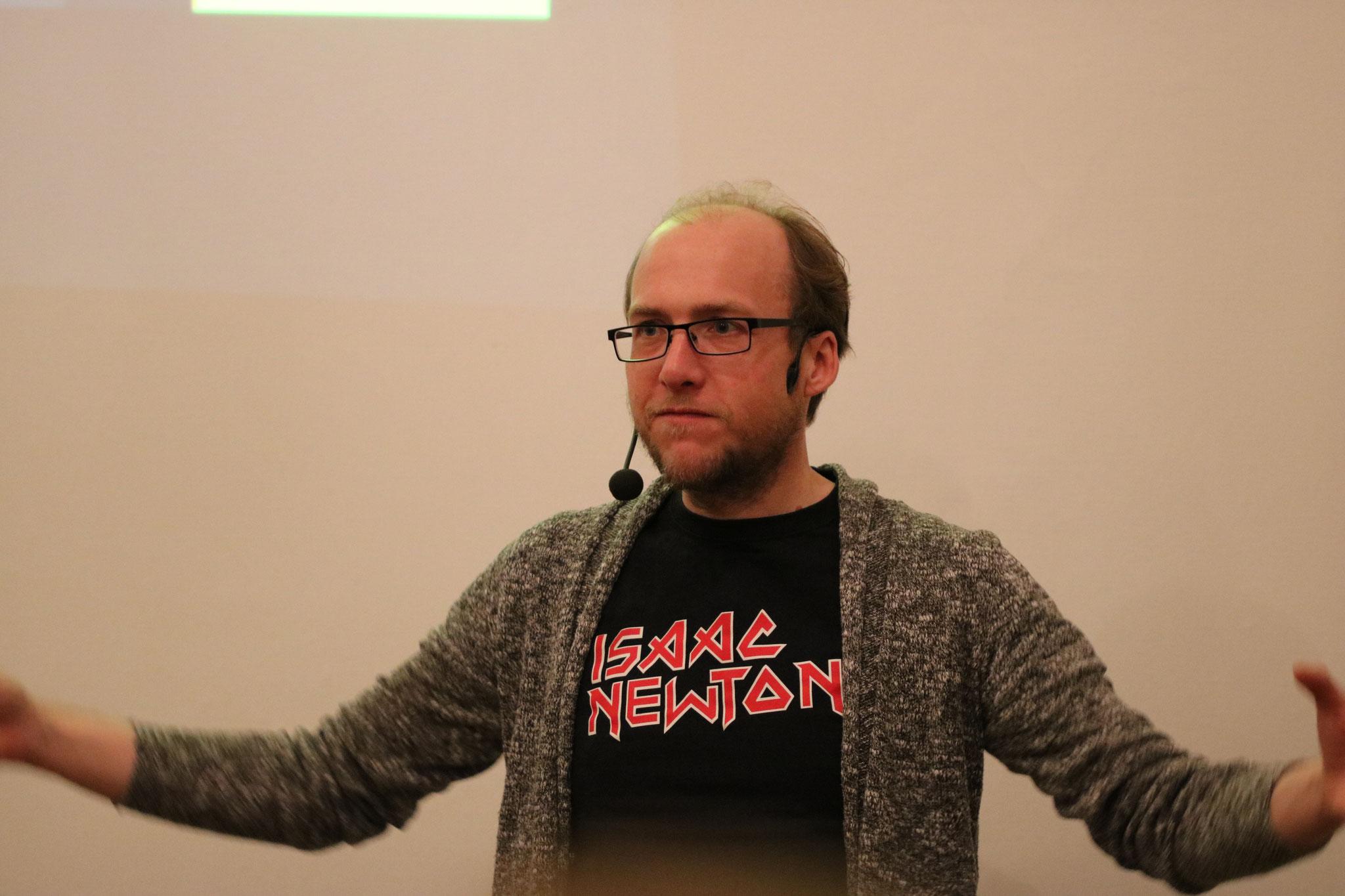 Dr. Florian Freistetter's Vortrag