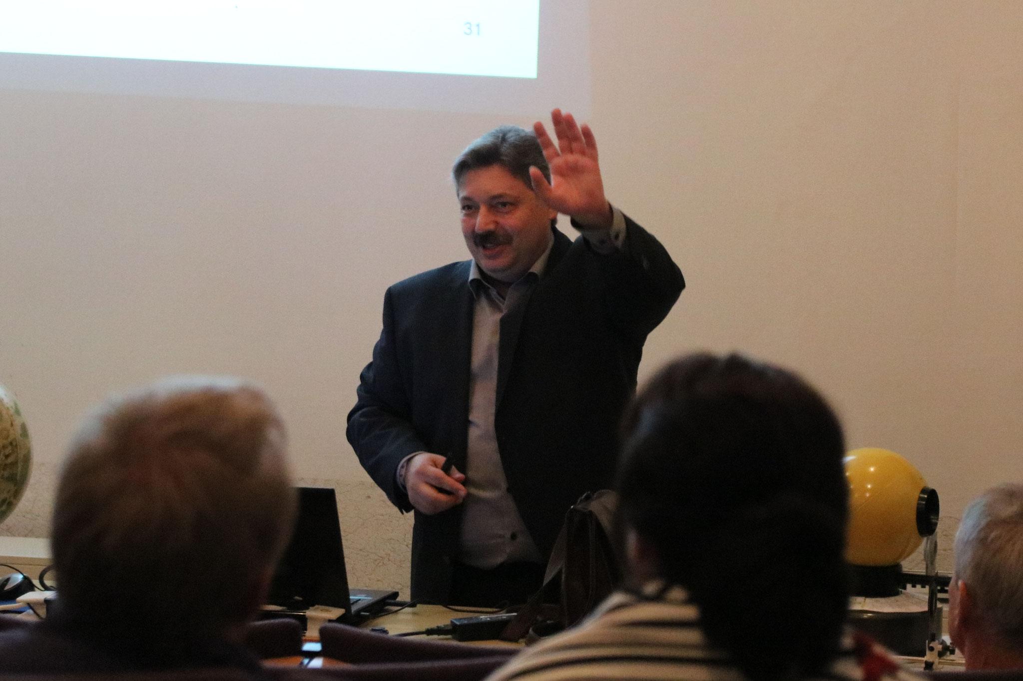 Dr. Yuri Yarin's Vortrag