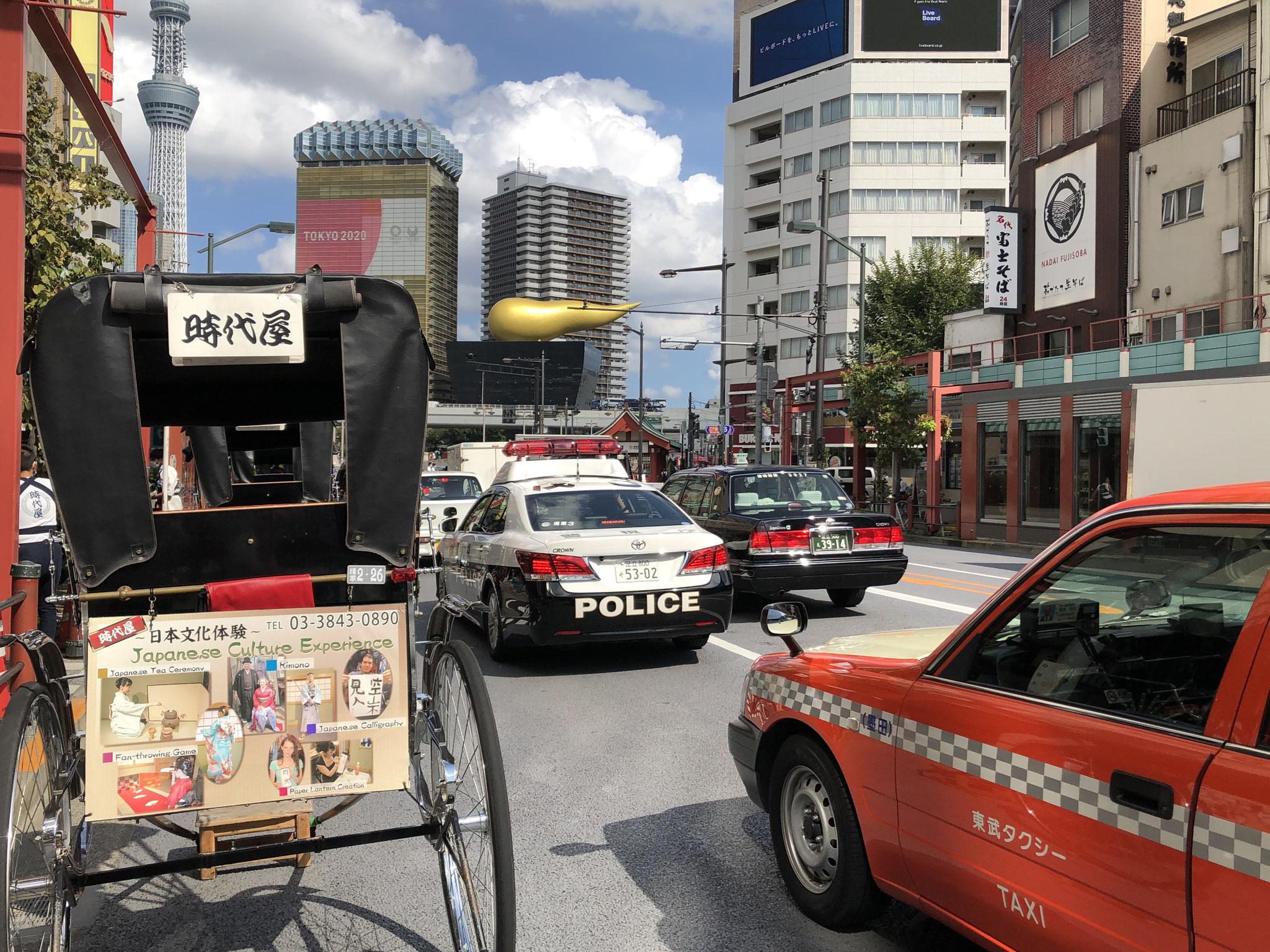 「東京オリンピック2020」の看板や、暇そうにしている観光関係者をみるのは悲しい