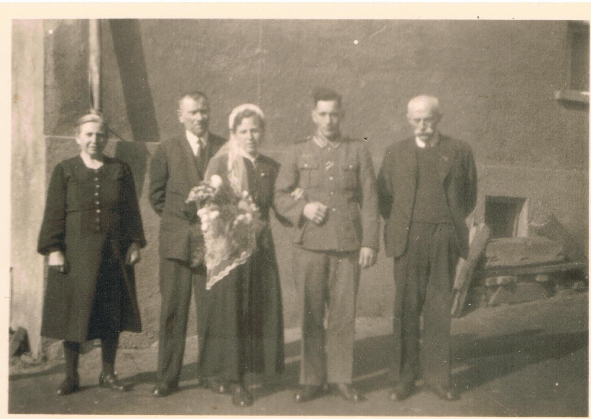 Hochzeitspaar Fritz und