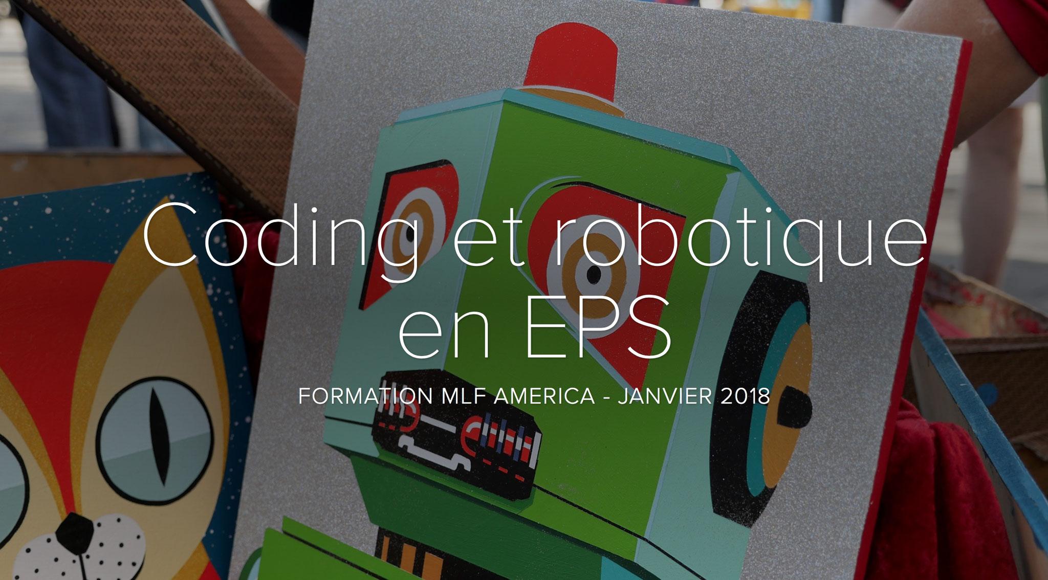 Coding et robotique en EPS